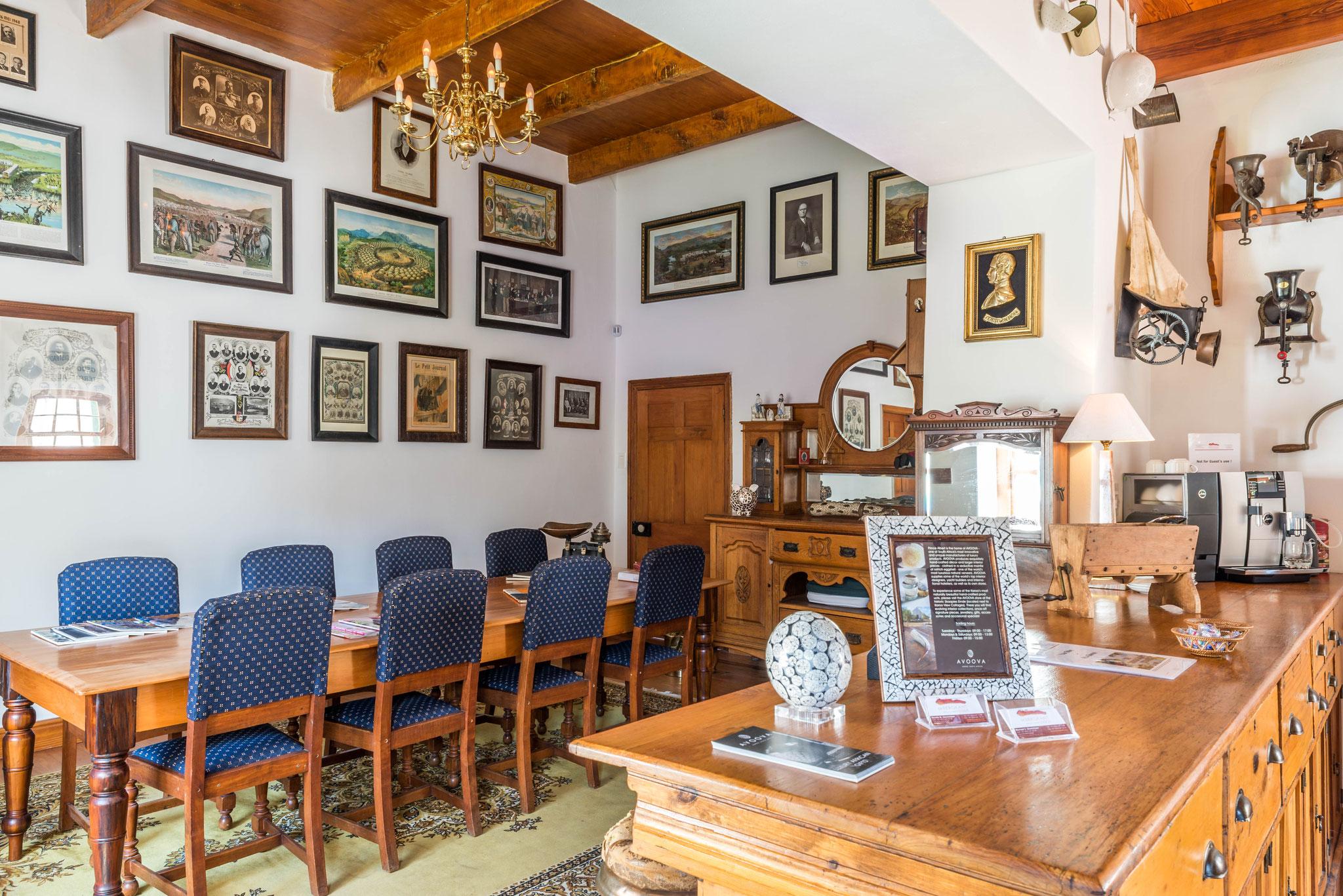 Manor House from 1858 - Monument nationales: Lobby & réception de l'hôtel