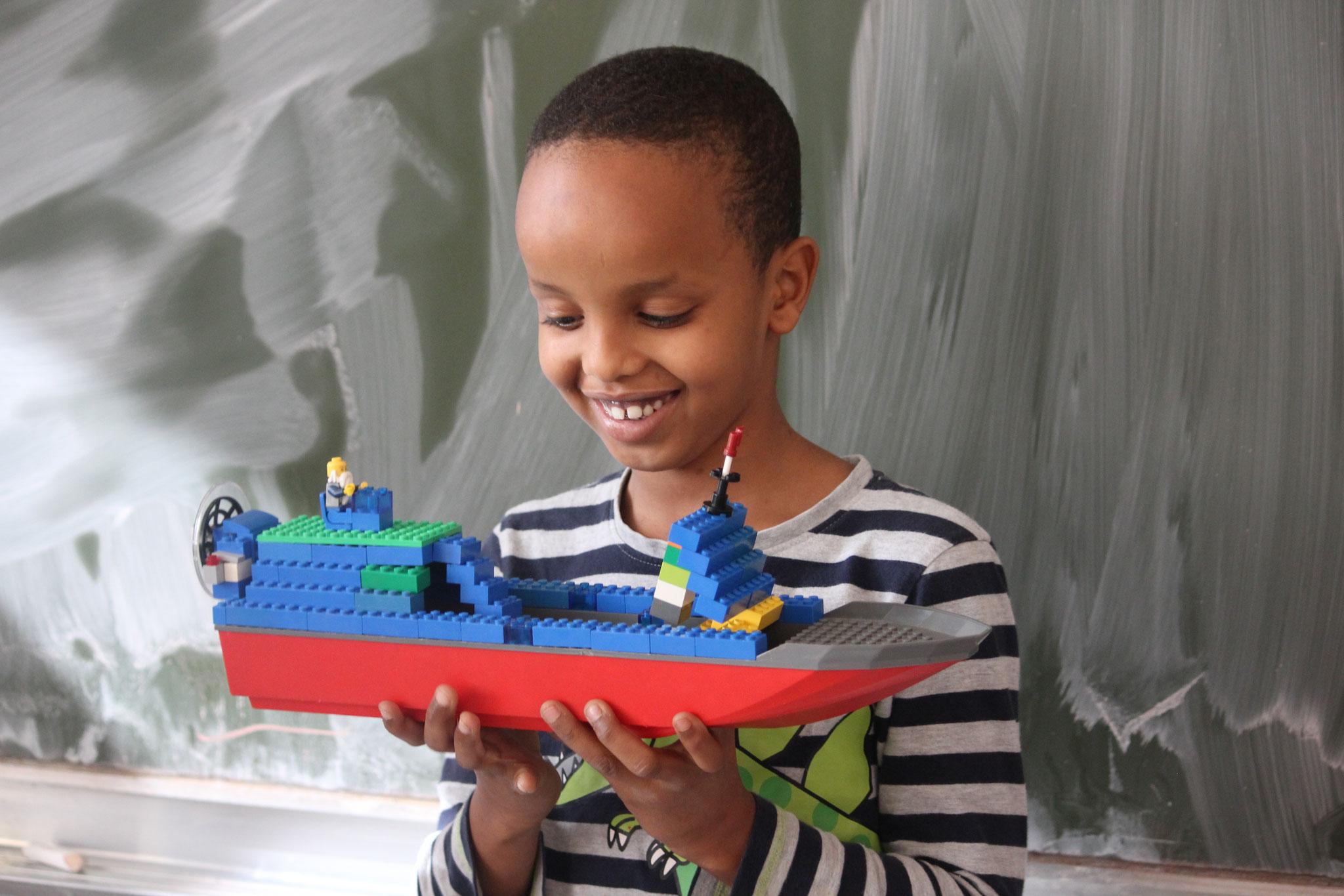 oder Lego bauen