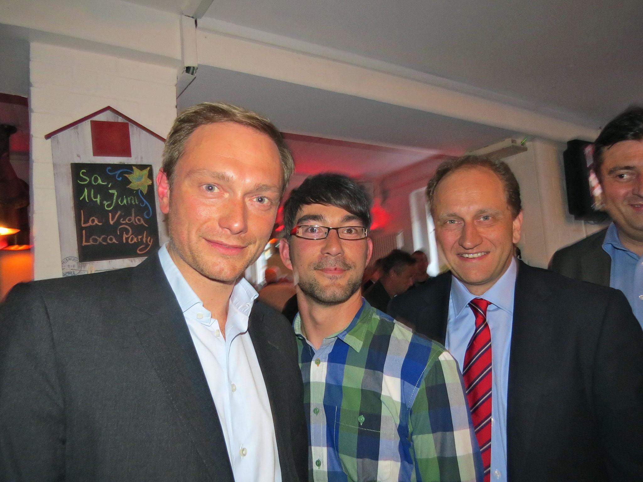 Wahlkampfveranstaltung 2014 in der Hausbrauerei Boente