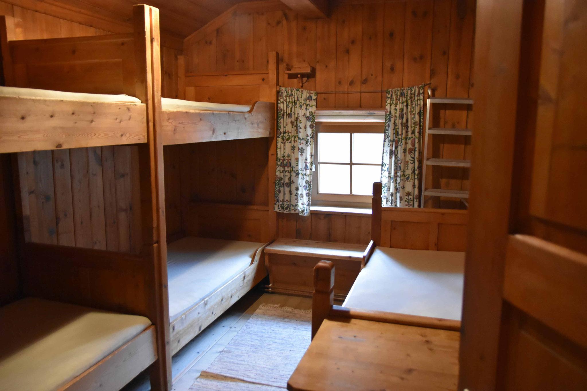 Das Zimmer im Hochjoch Hospiz