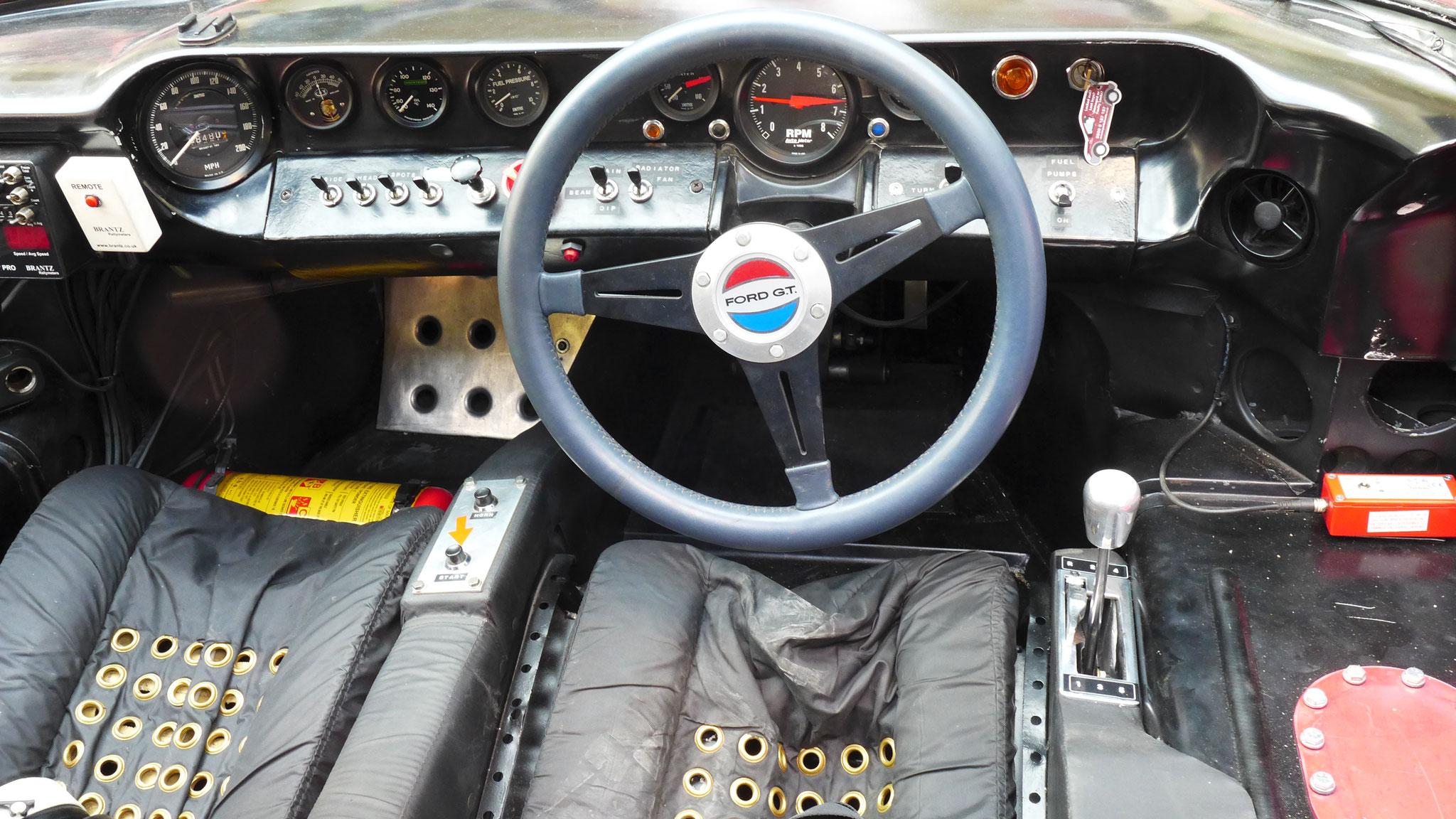 Intérieur Ford GT40