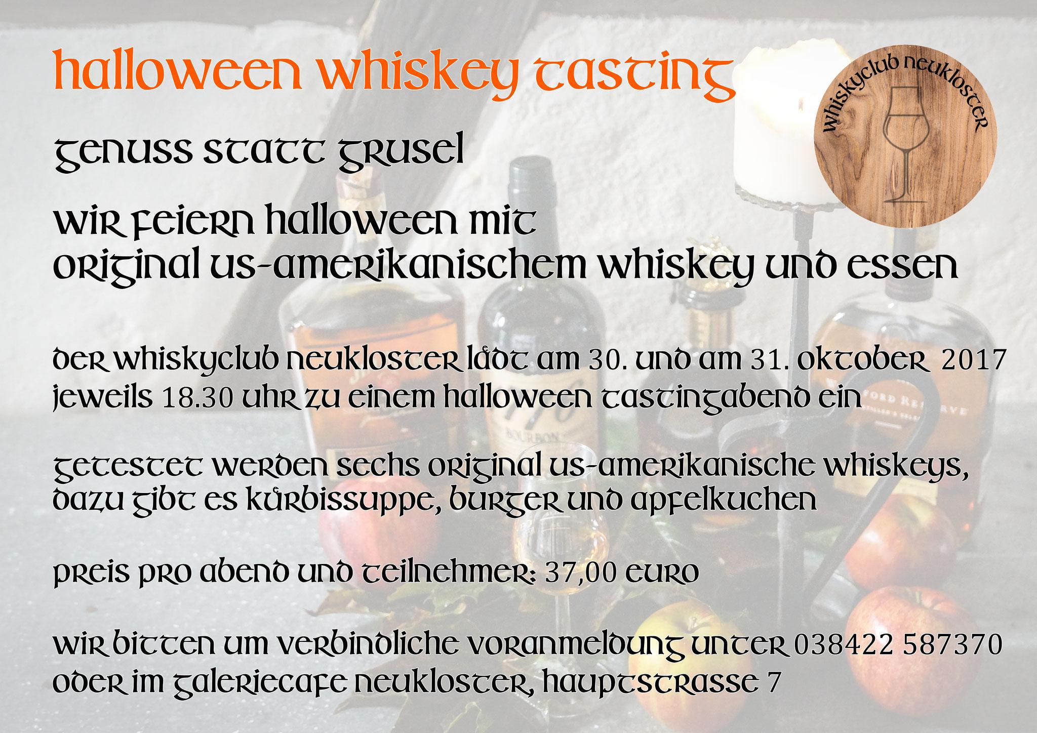 Gründung des Whiskyclubs Neukloster