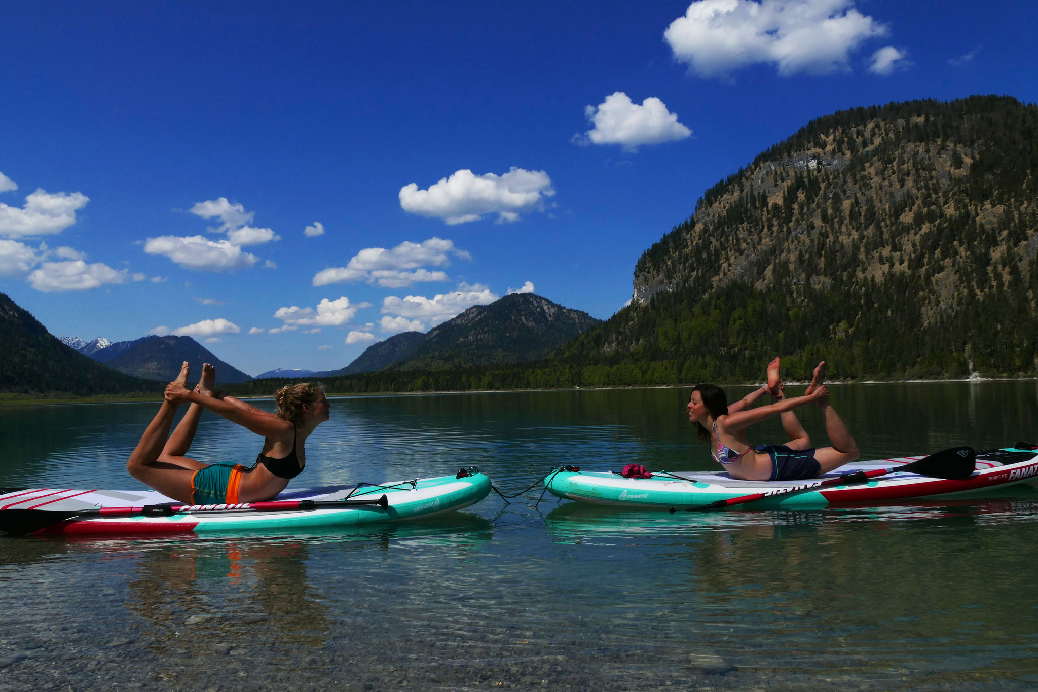 SUP YOGA in Bayern