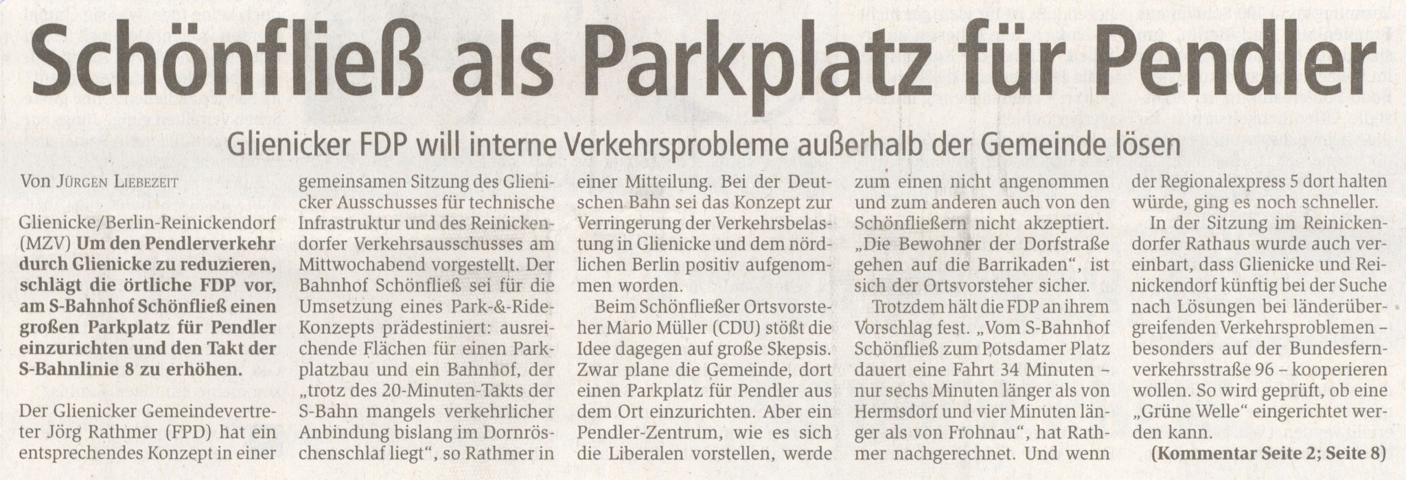 Oranienburger Generalanzeiger, 24.04.2015