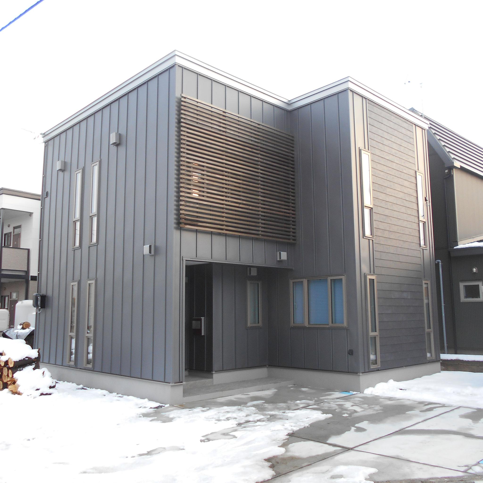 新築工事 設計監理:㈱稲見建築設計事務所 施工:㈲エス・ティ・ケー