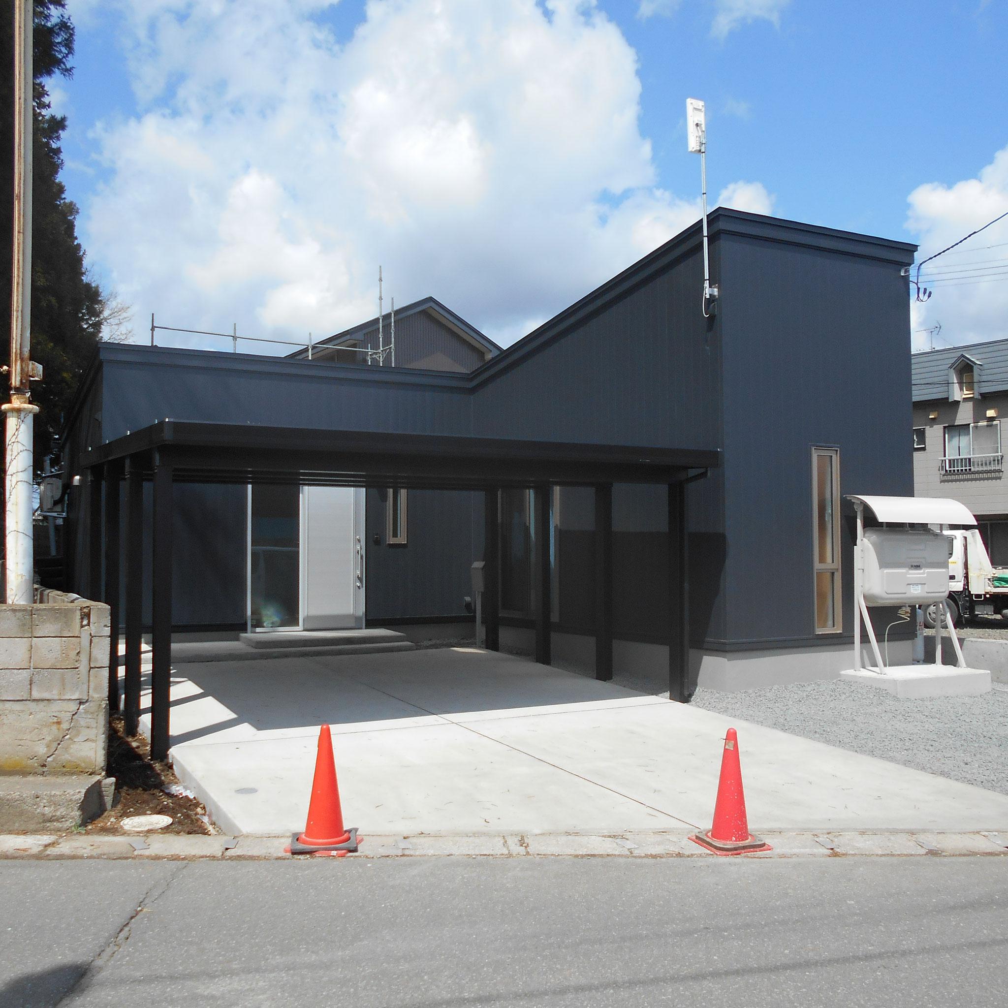 新築工事 プランニング・施工:㈲エス・ティ・ケー 設計:㈱稲見建築設計事務所