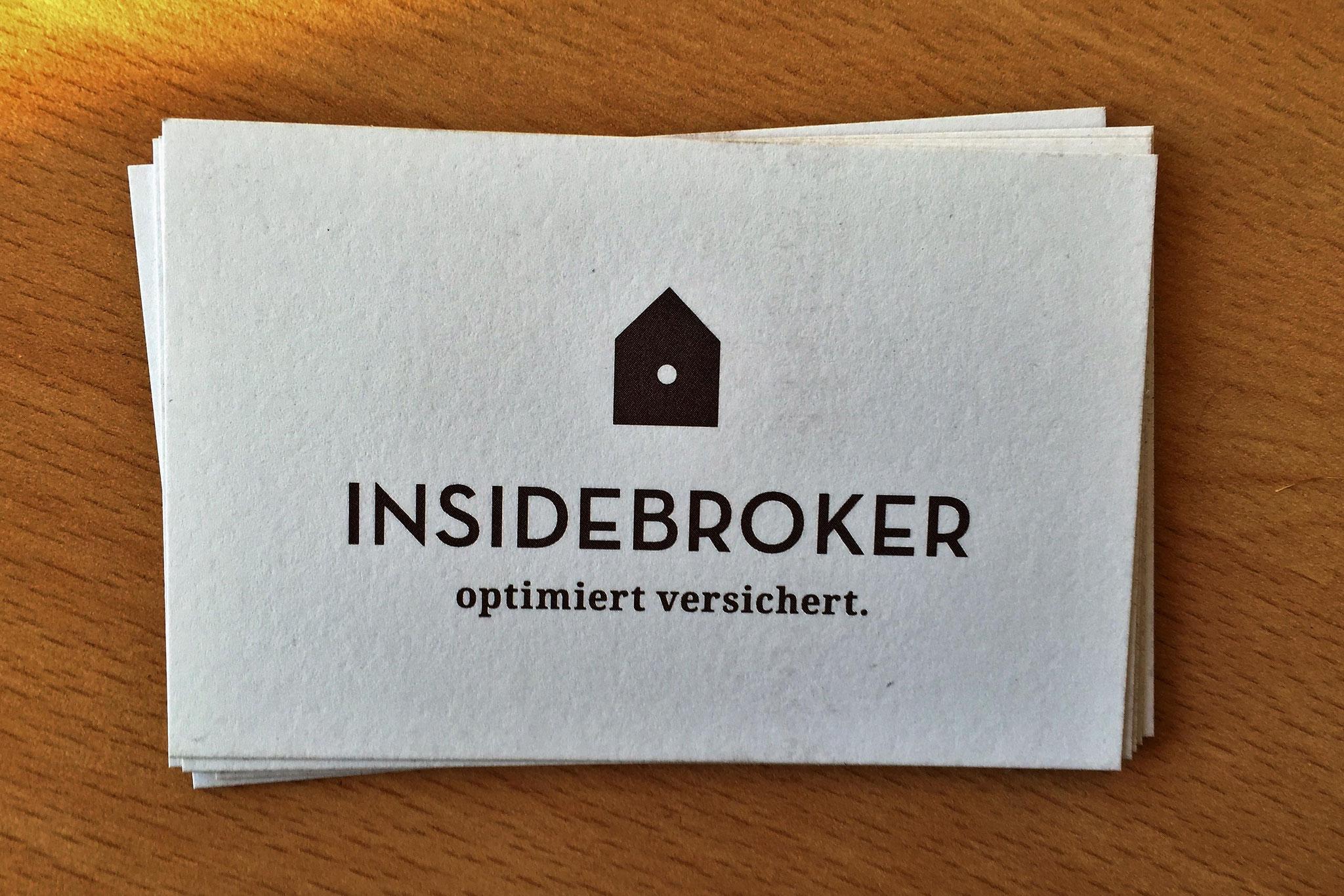 Visitenkarten von Insidebroker, Oberkirch