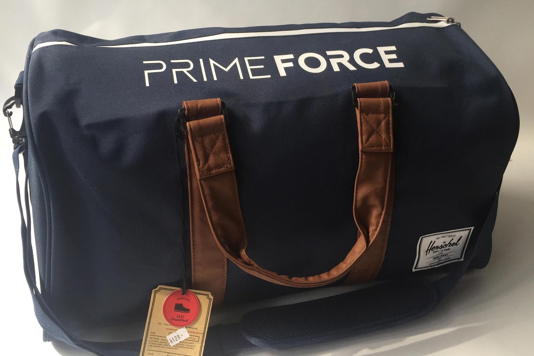 Bedruckte Taschen für PrimeForce