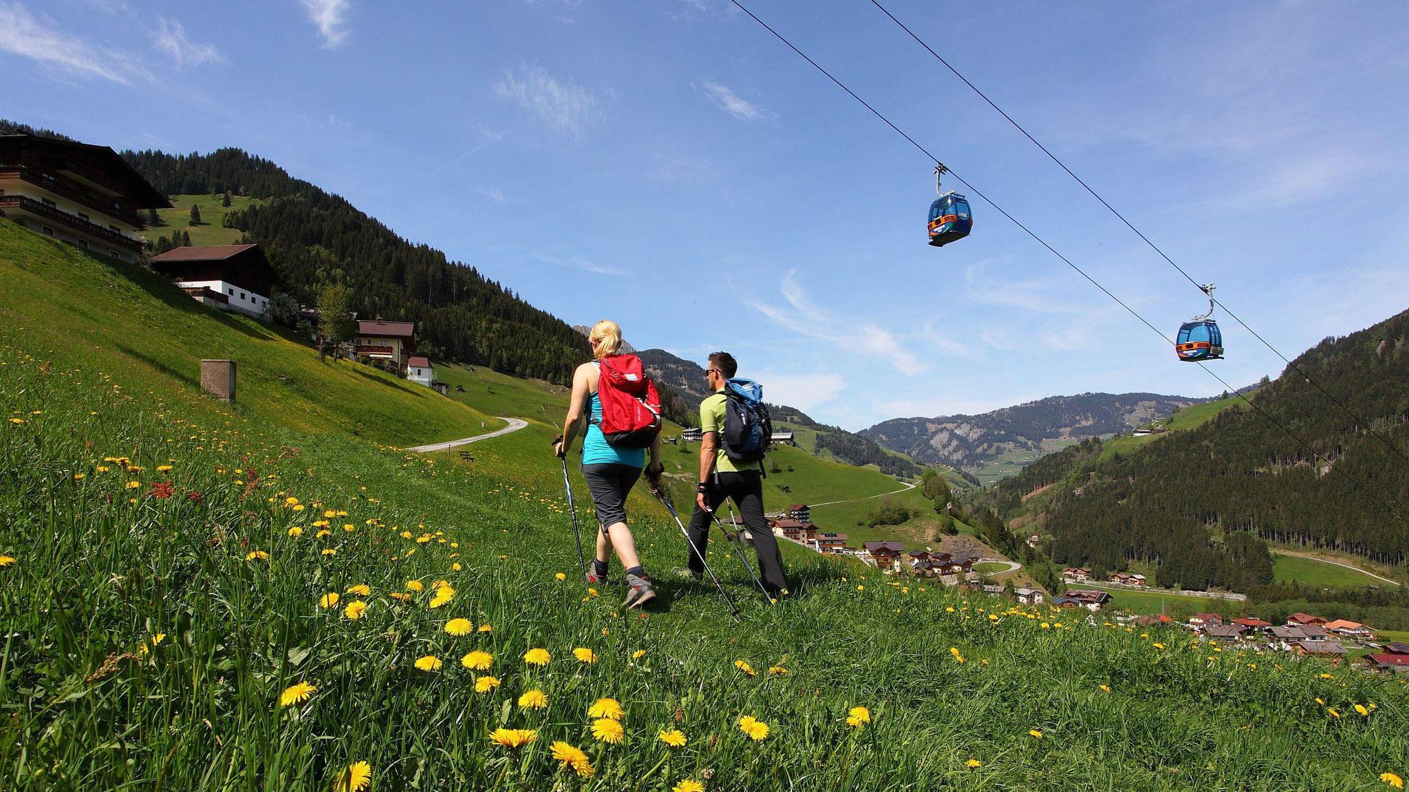 Seilbahnwandern Grossarl