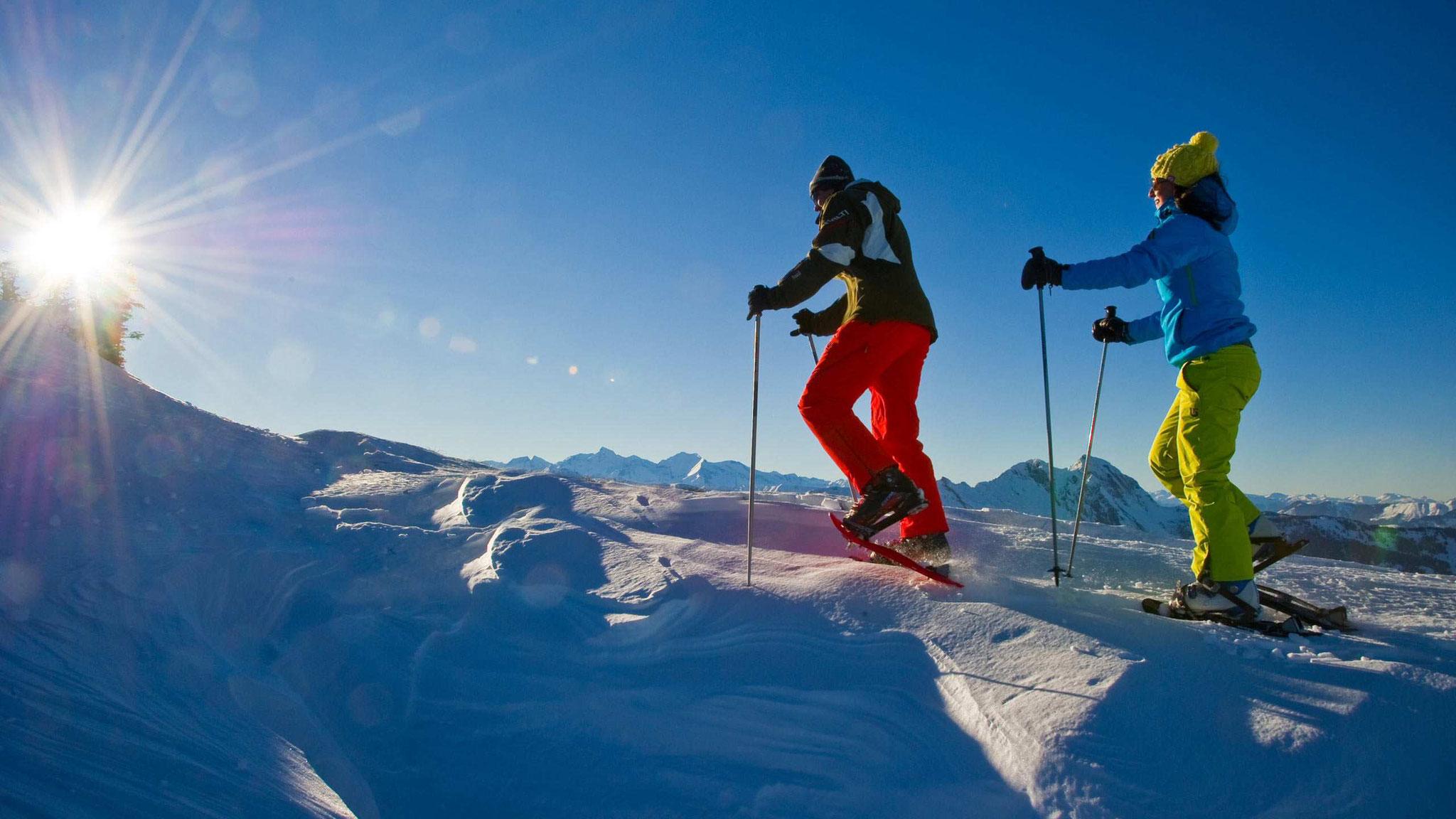 Schneeschuhwandern Winterwandern in Großarl