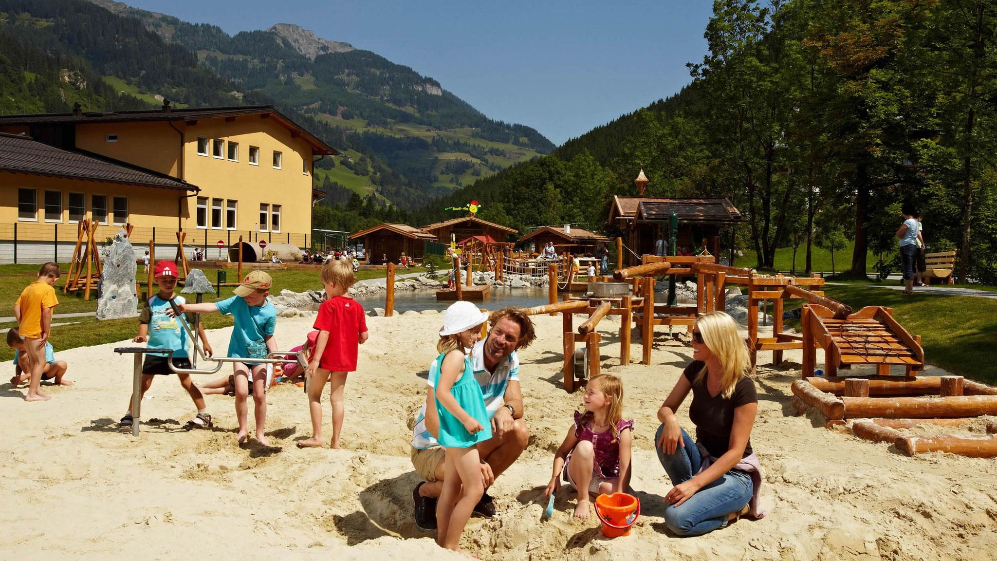 Spielplatz Gaudialm in Großarl