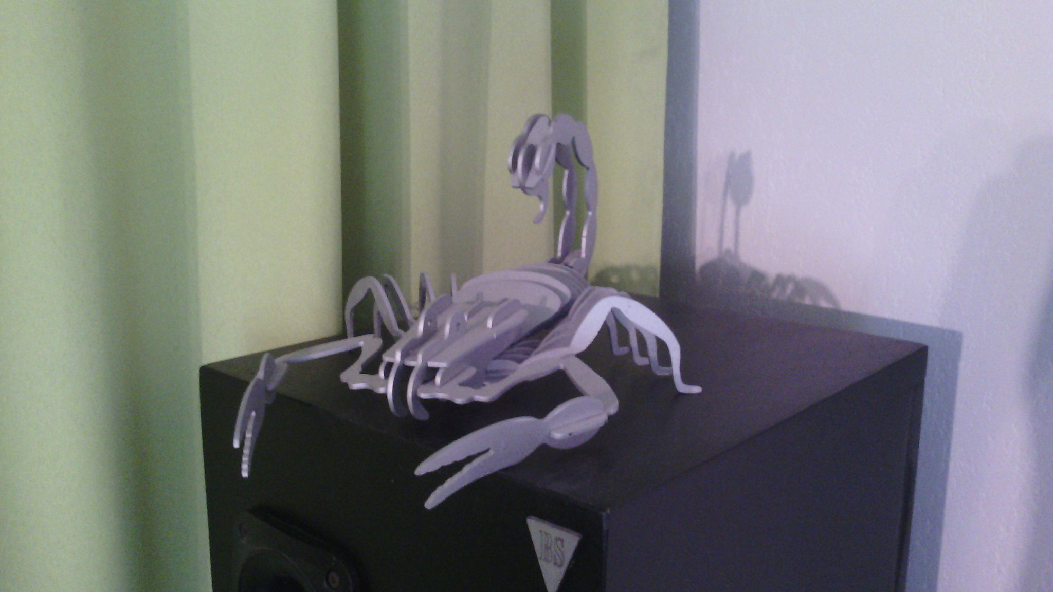 Puzzle 3D scorpion Acier