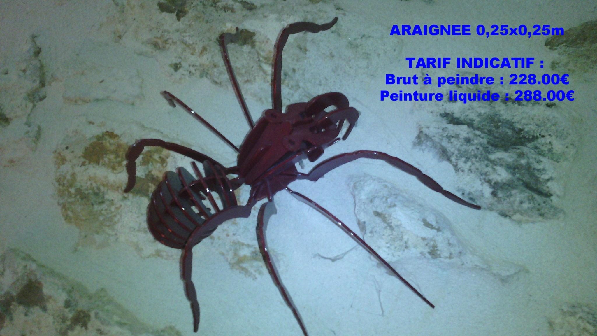 Puzzle 3D araignée Acier