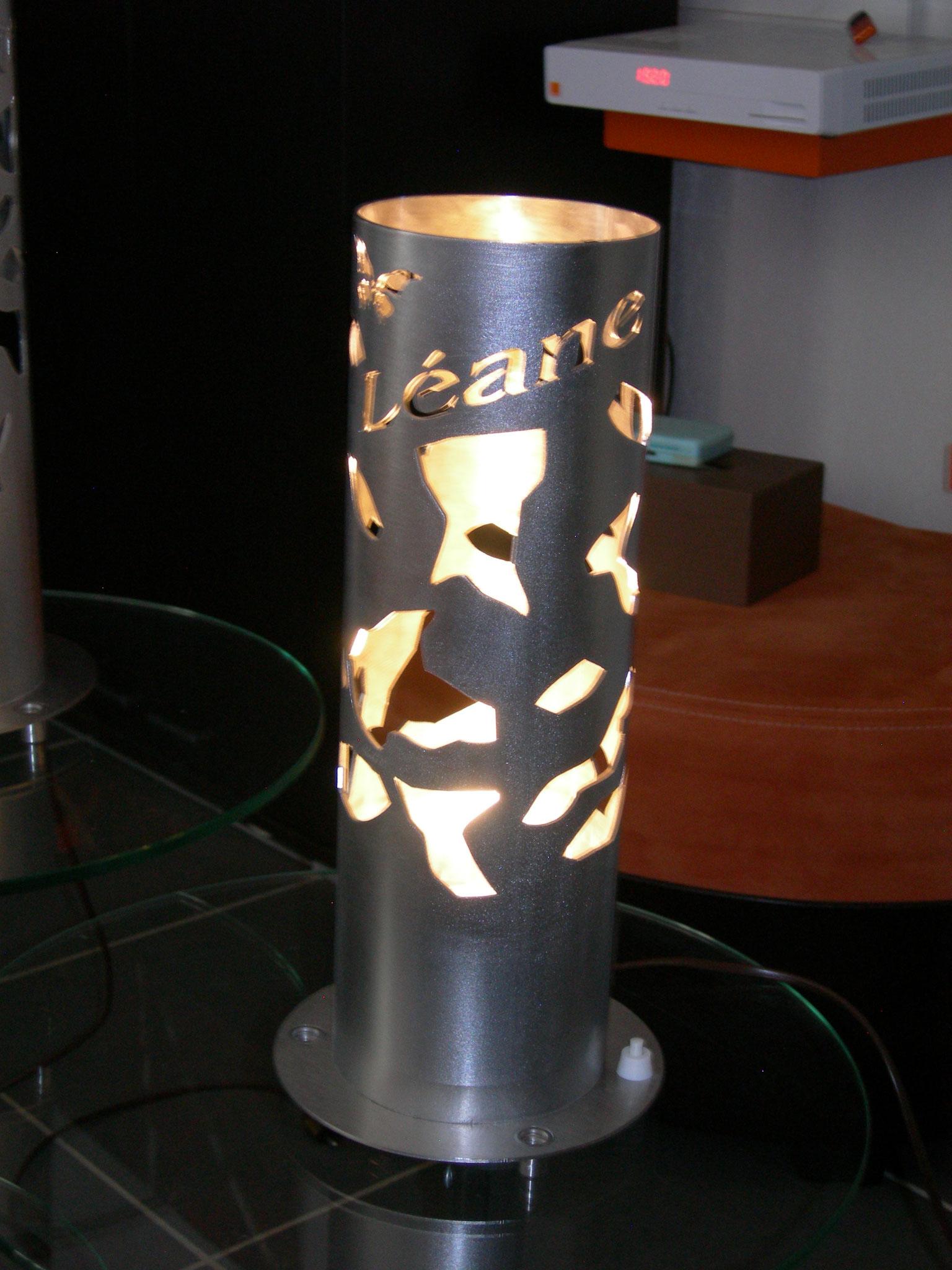 Lampe de chevet Inox