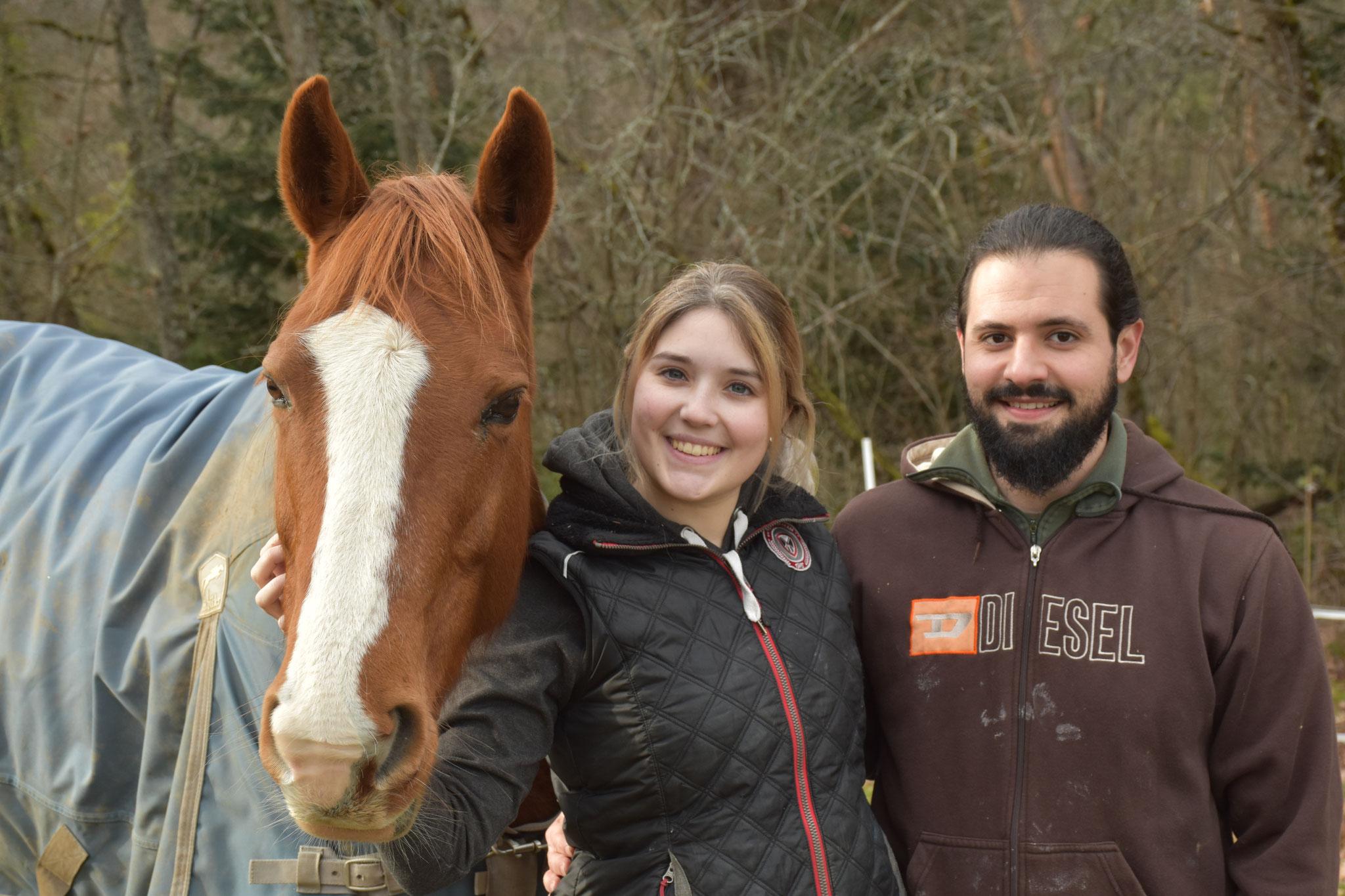 Athena adoptée par Camille et Arnaud en janvier
