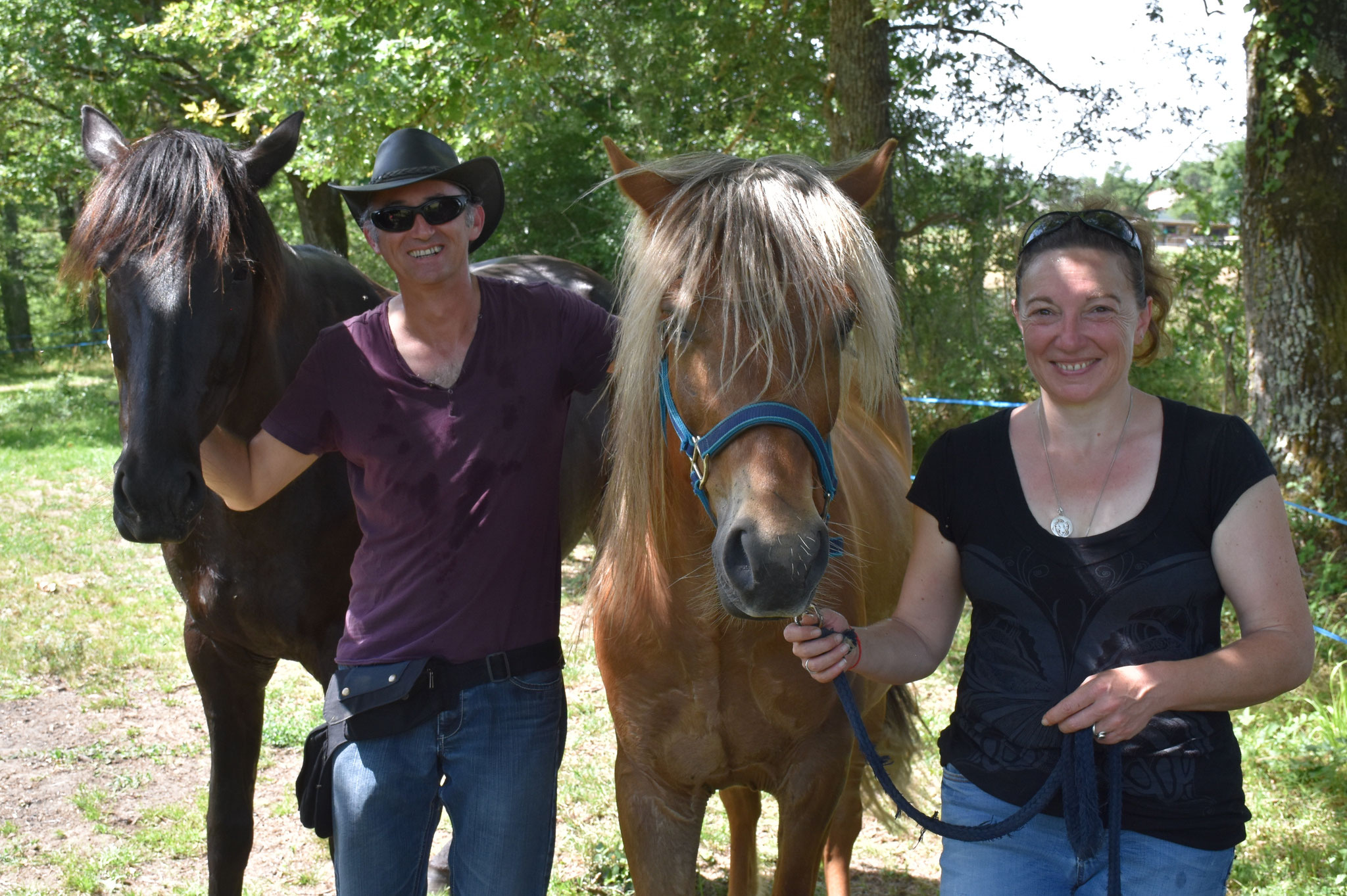 Arzon du Lannic et Eliot adoptés par Blandine et Benjamin en juillet 2019
