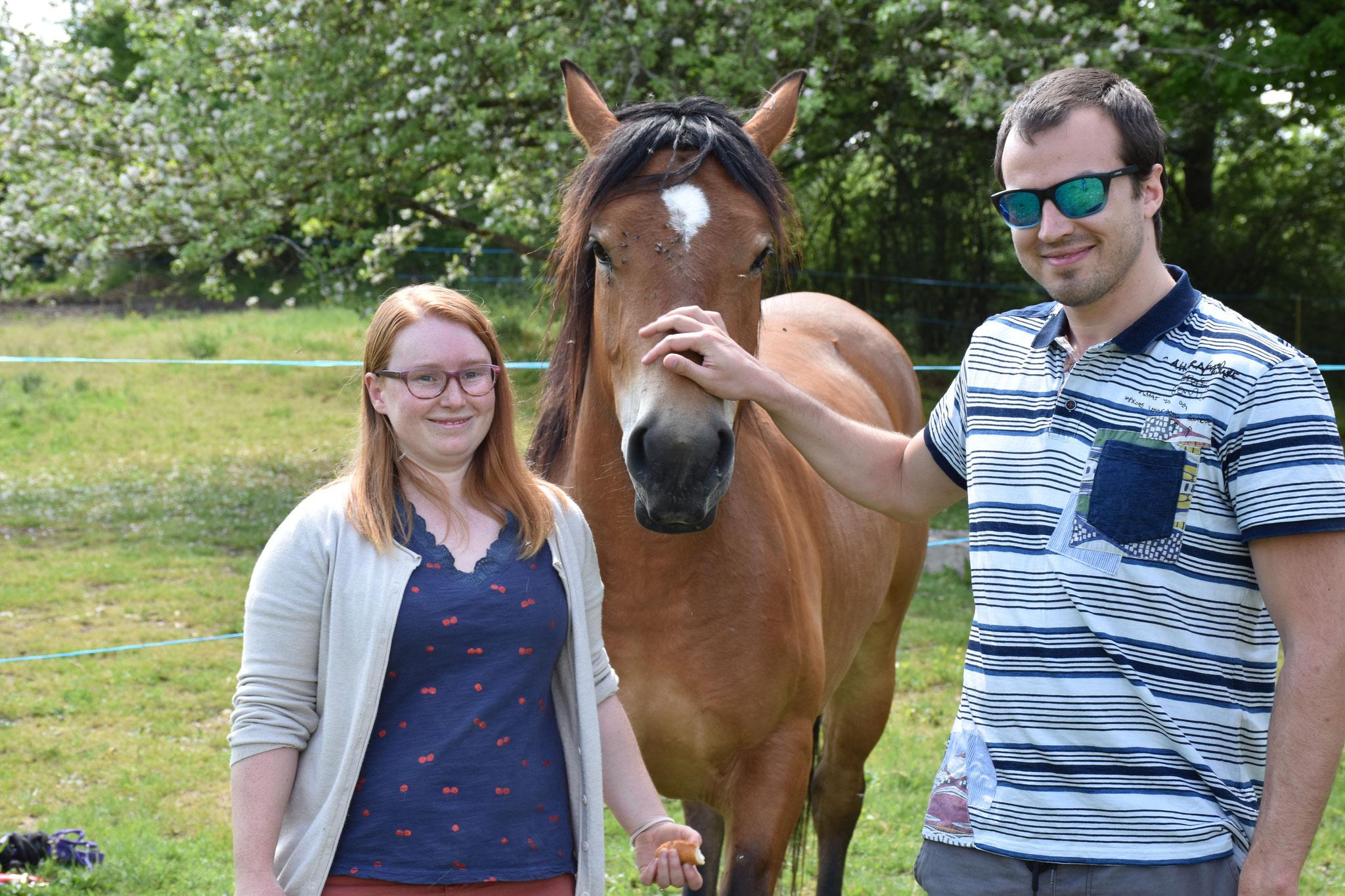 Gaby adoptée par Sarah et Ghislain en mai 2020