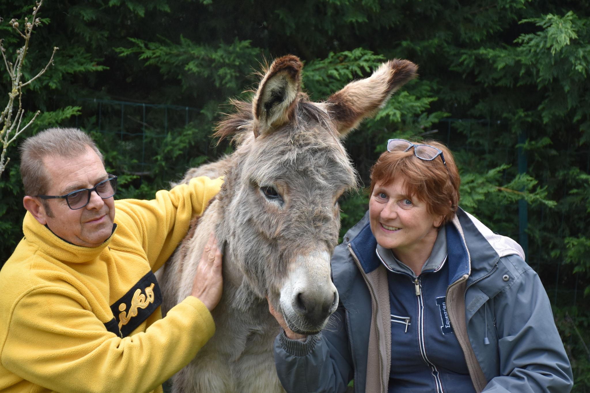 Cajou de liberté adopté en mai par Nathalie et Jean-François