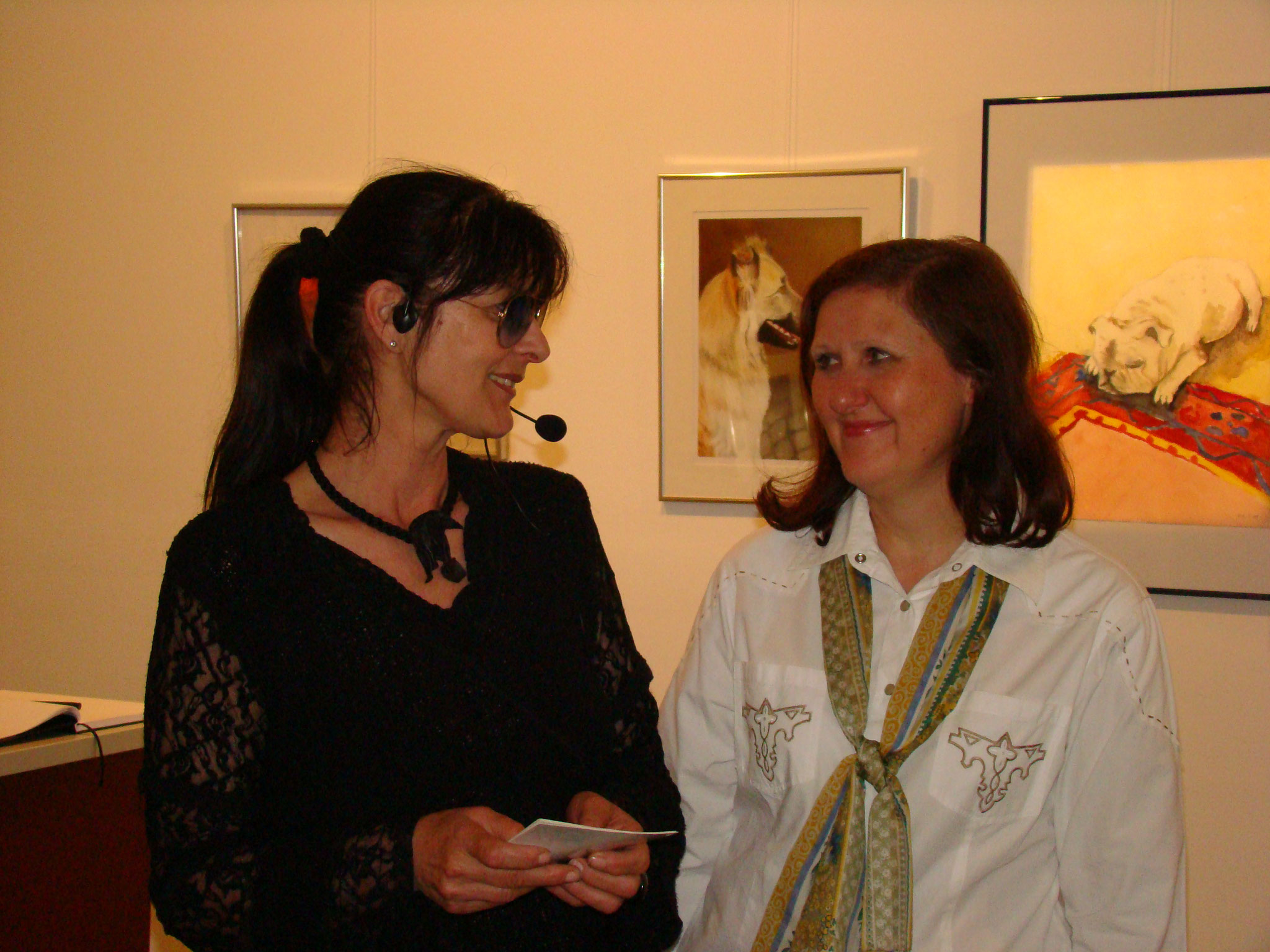 Roswitha Wagner & Gertrude Prinz