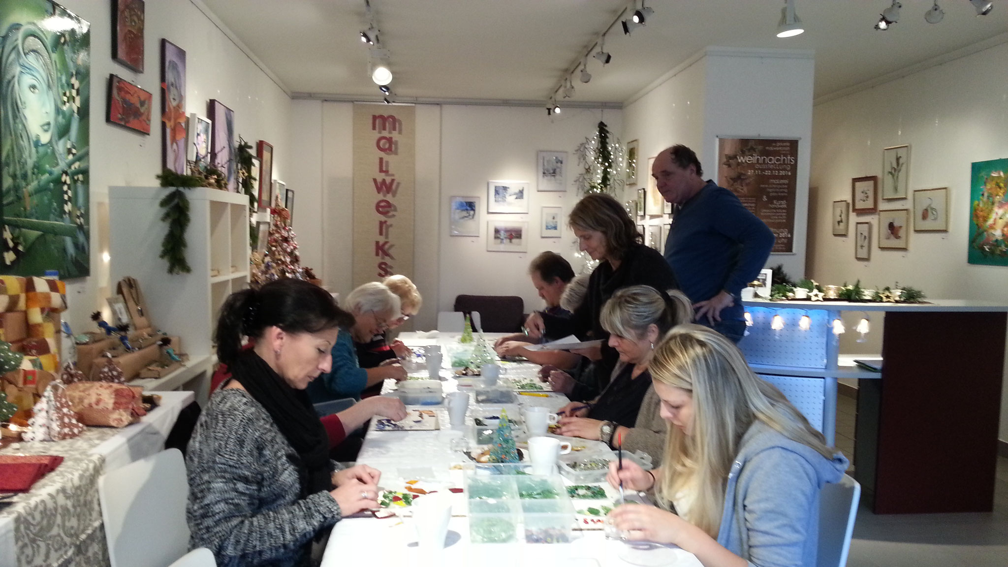 Glasfusion-Workshop mit Martin Suritsch
