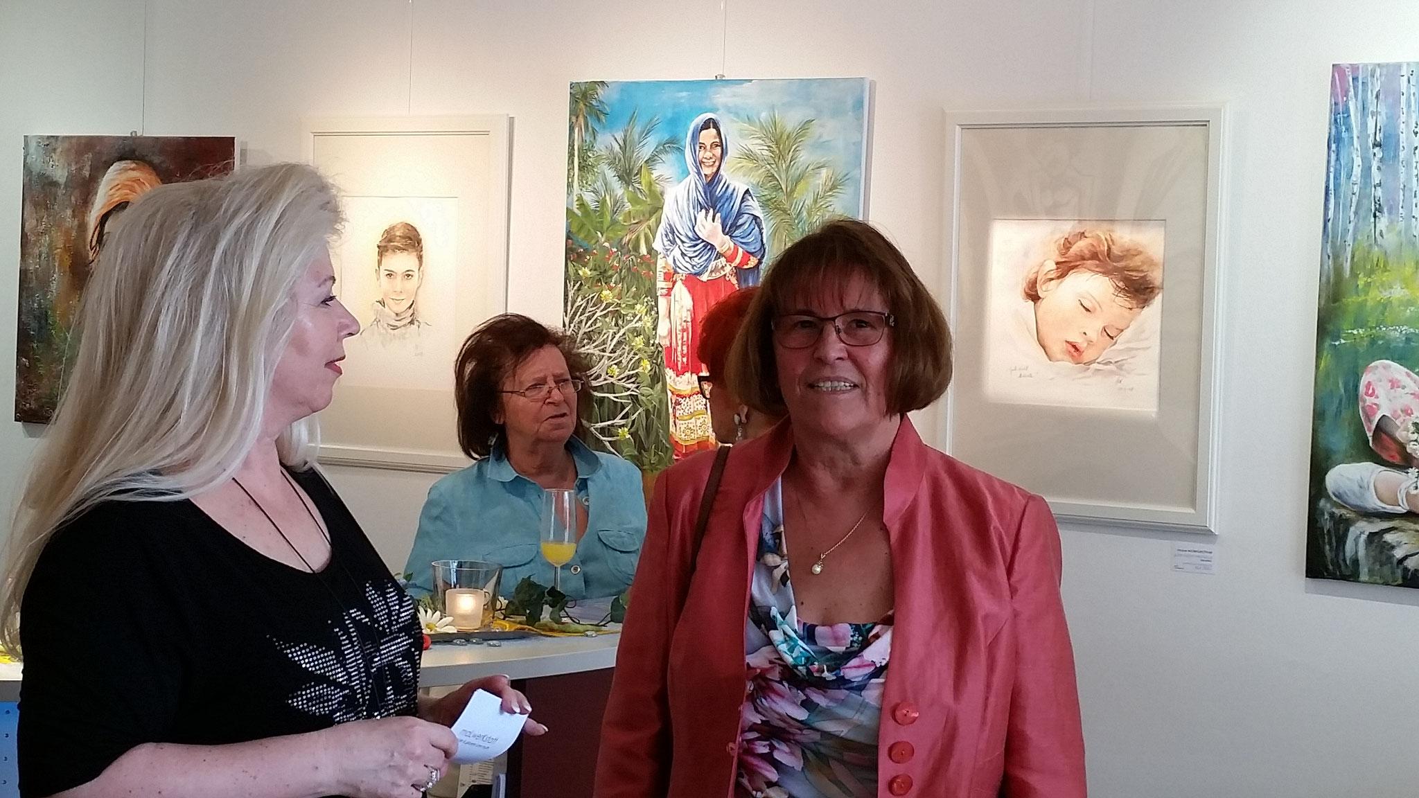 Lore Muth (links) & Stefanie Widerlechner (rechts)