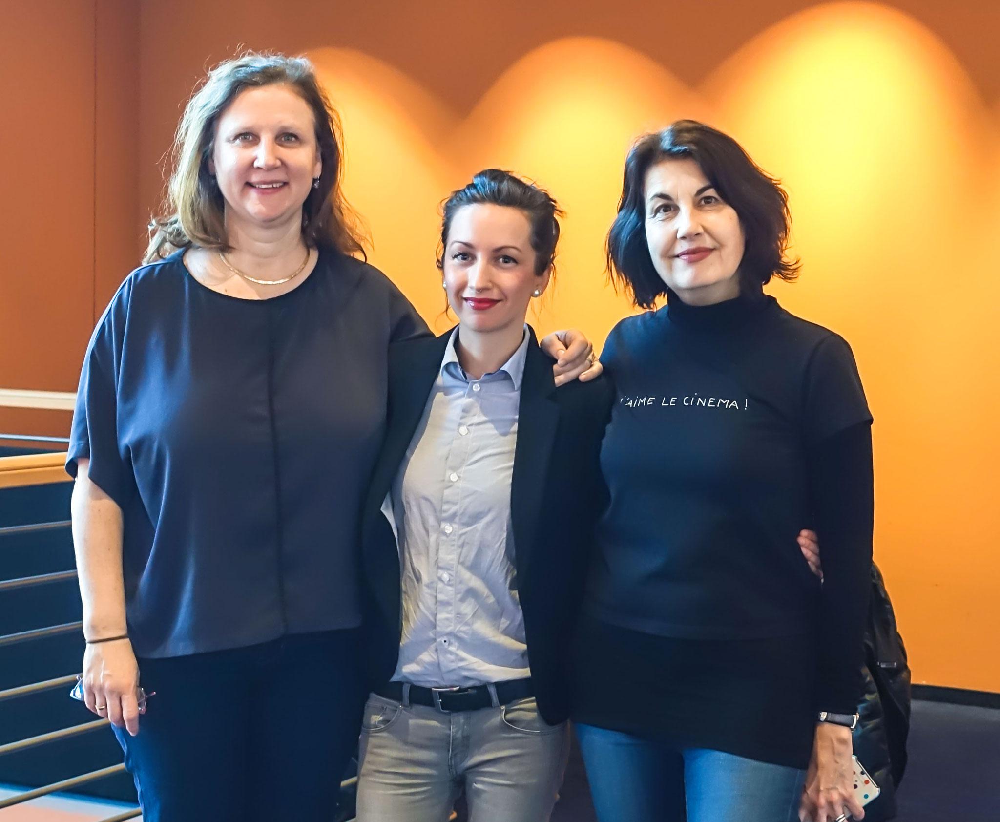 Angela, little me and Maya