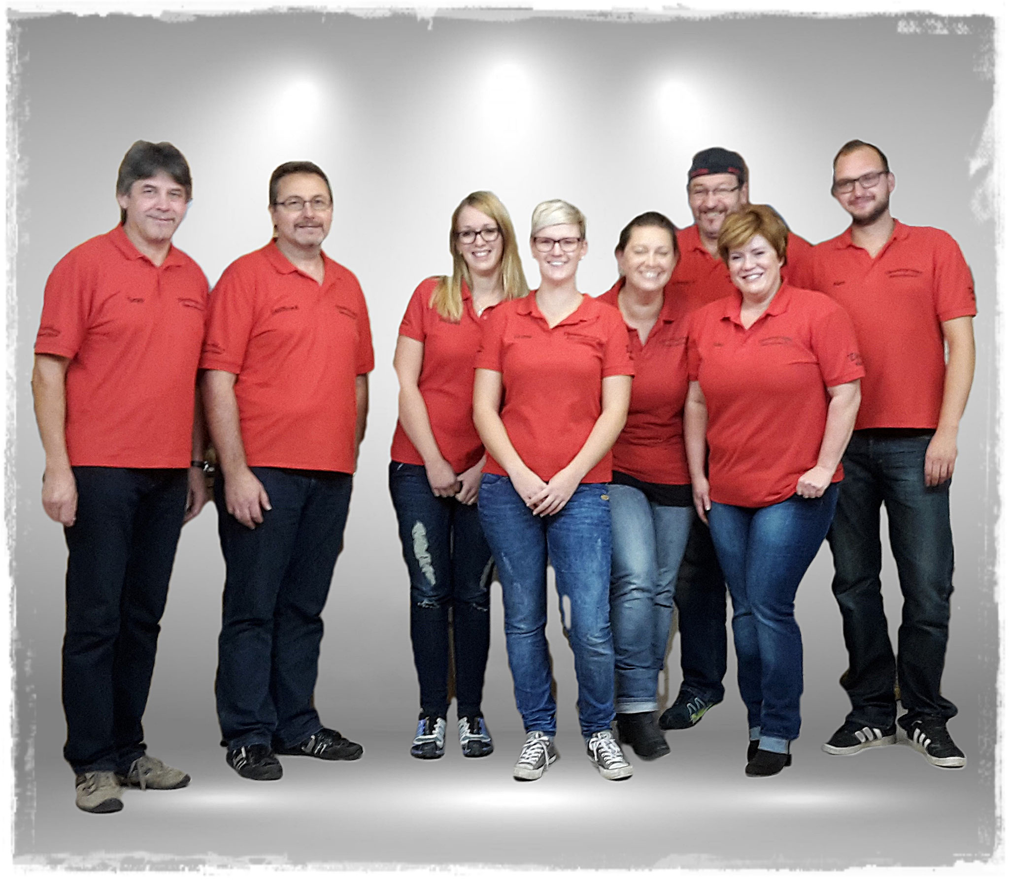 Von links nach rechts: Sepp Wittman, Gottfried Pommer, Melanie Weber, Veronika Lehner, Ramona Kilger, Christian Schmalzbauer, Silke Hrda, Alexander Fleischmann