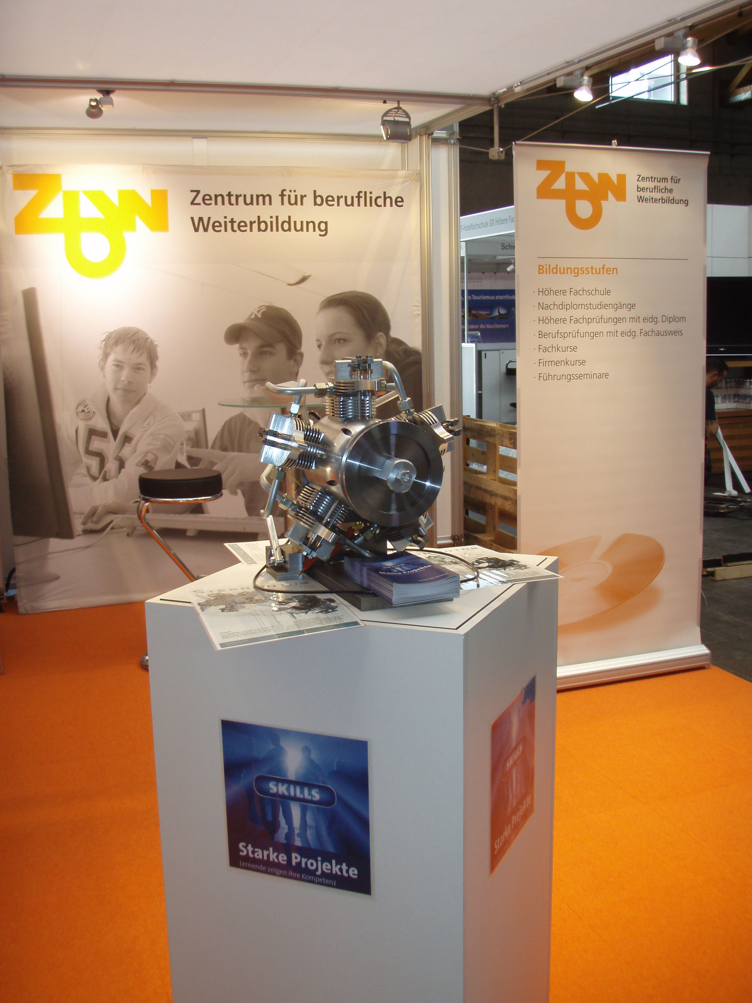 Messestand ZBW