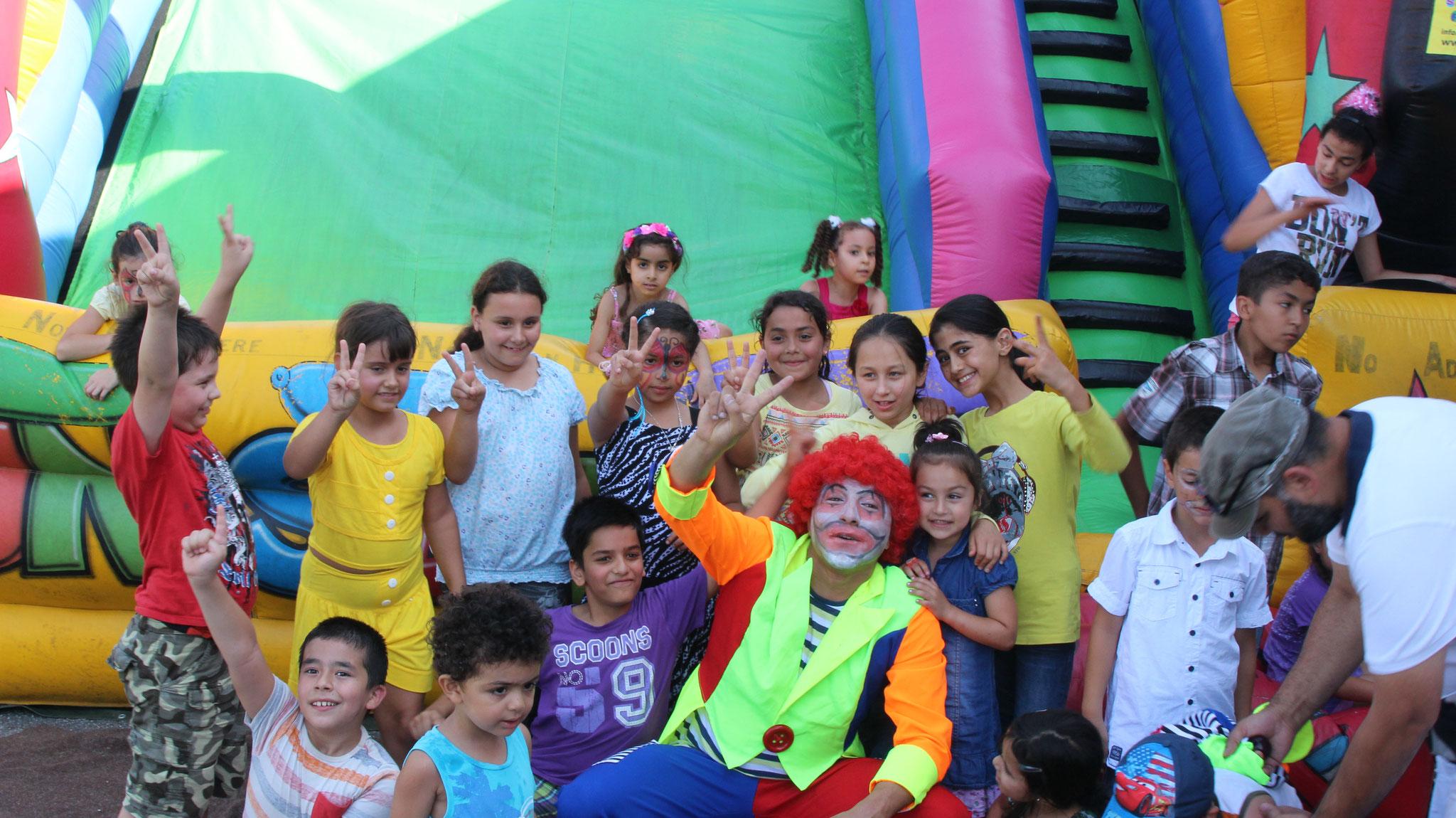 ... haben die Kinder immer viel Spaß