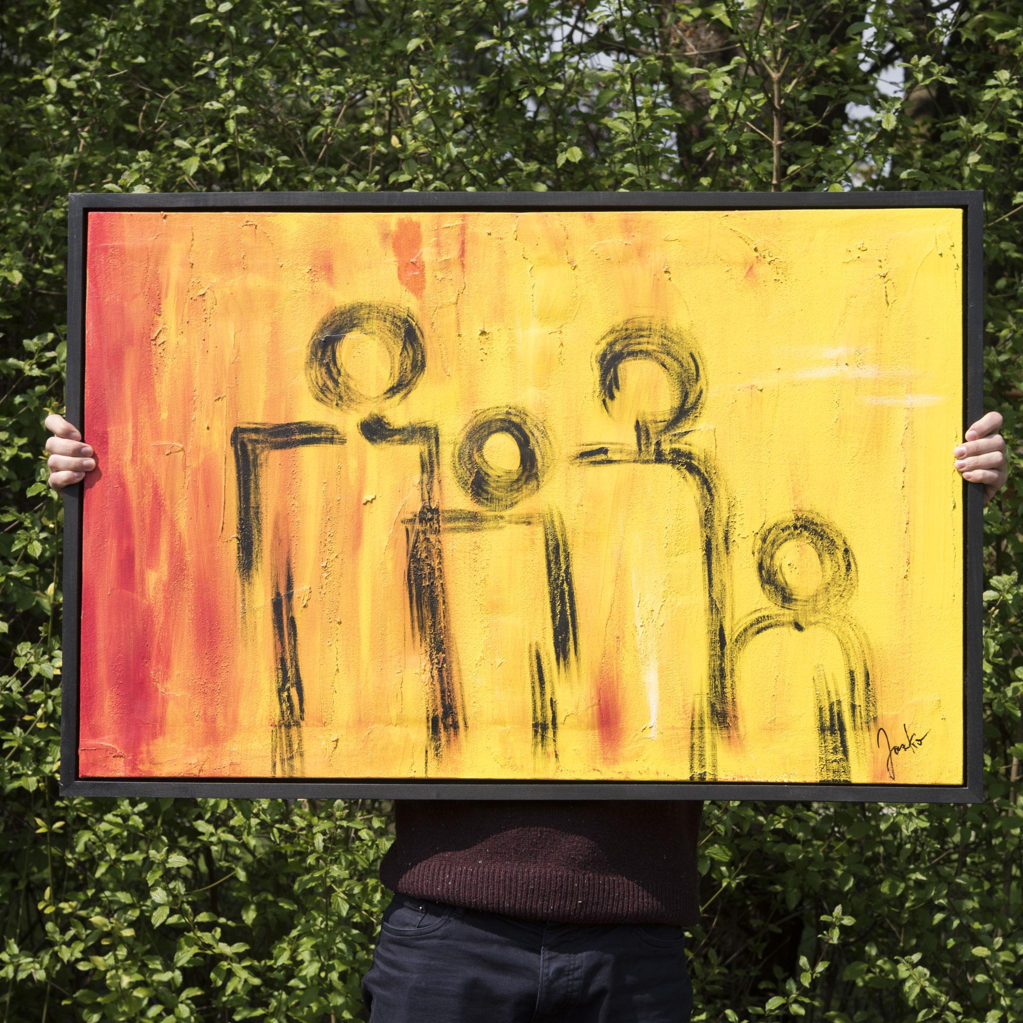 Schattenfugenrahmen für Ihre Kunstwerke