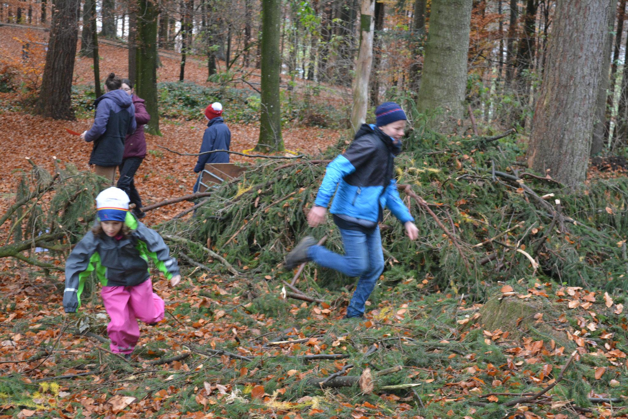 Action im Wald - auch das ist Jungschar! [November 2018]
