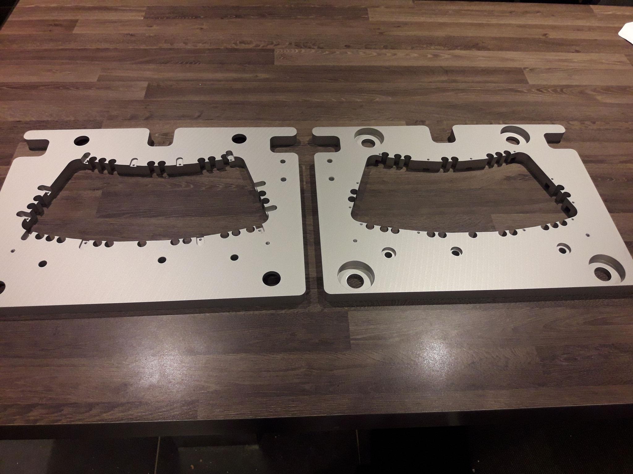 Aluminium onderdelen voor de machinebouw