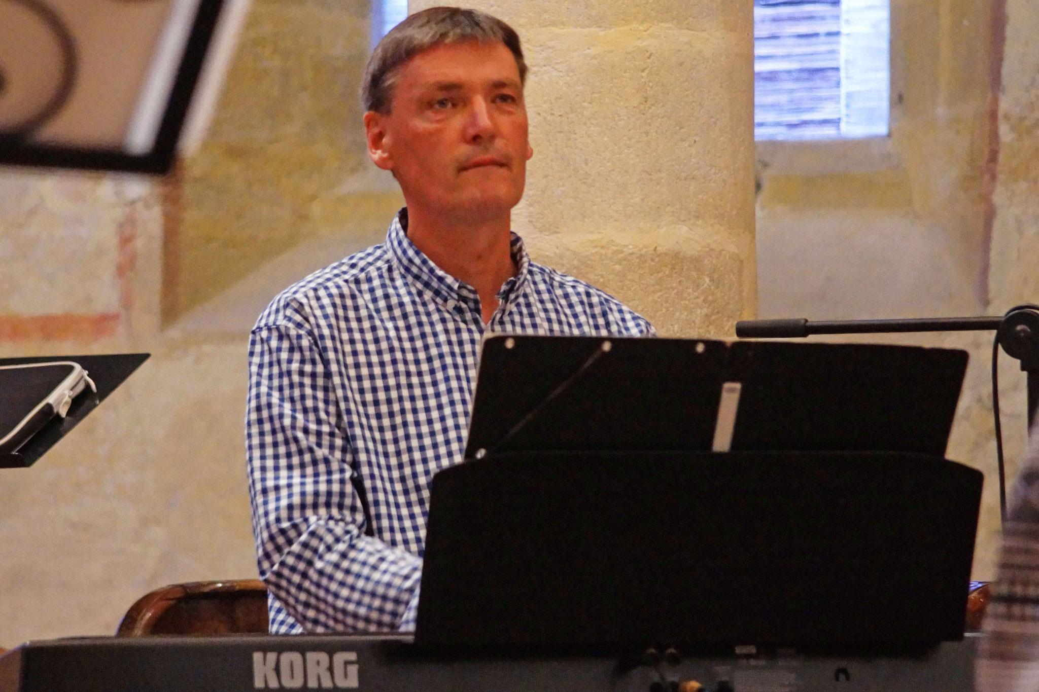 Concert, Eglise Saint Gobrien de Morieux, Mercredi 3 août 2016 ~ Pianiste : Jean-Marc Amis