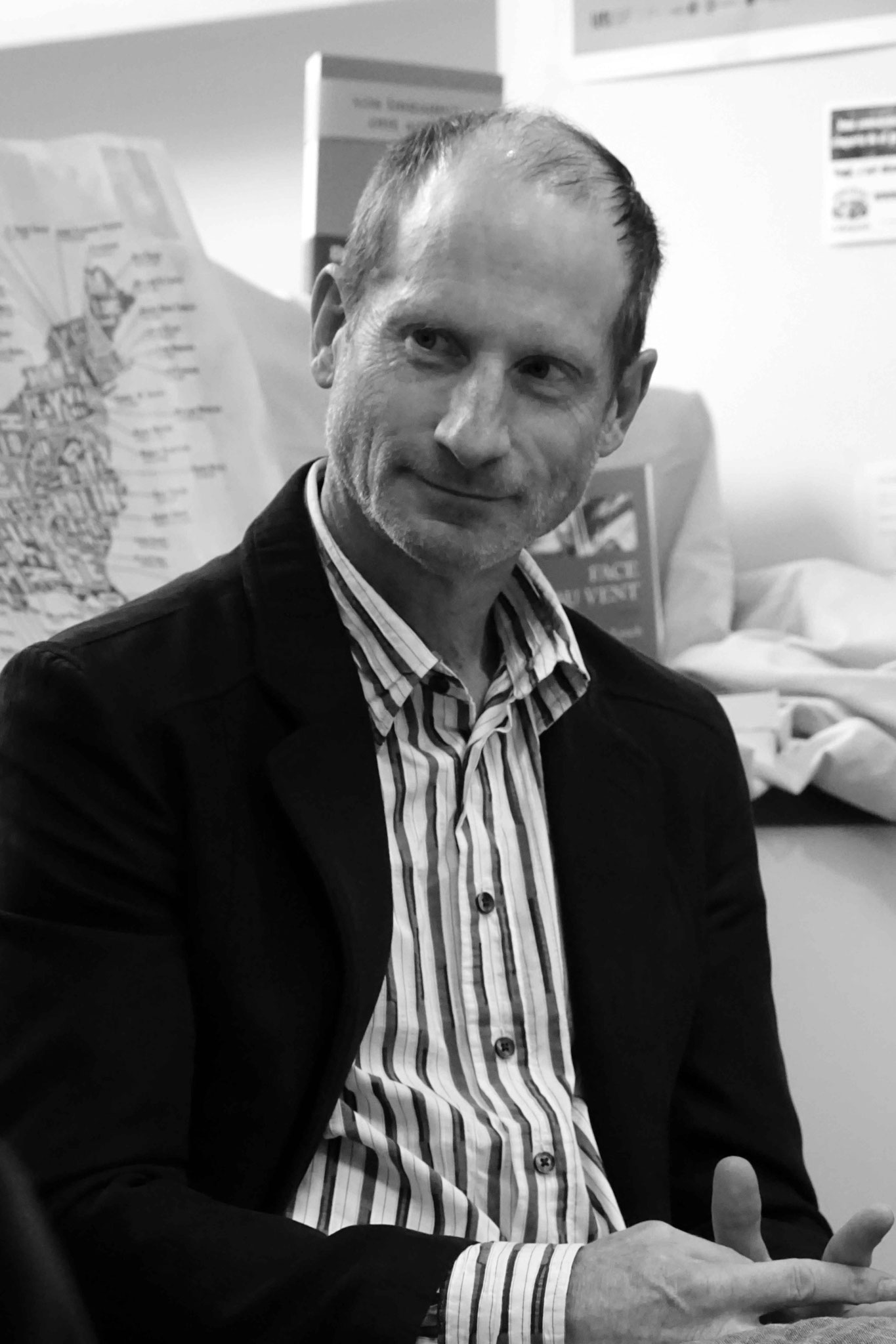 "Jim Lynch ~ Rencontre à la librairie Gwalarn pour son roman ""Face au vent"" ; Mercredi 16 mai 2018"