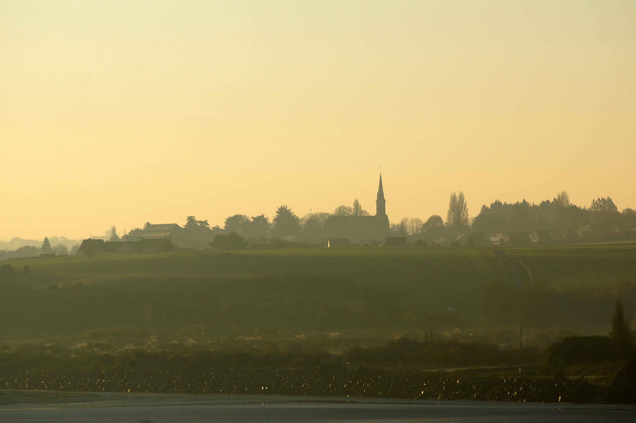 Cesson de Saint-Brieuc, un petit matin d'hiver !