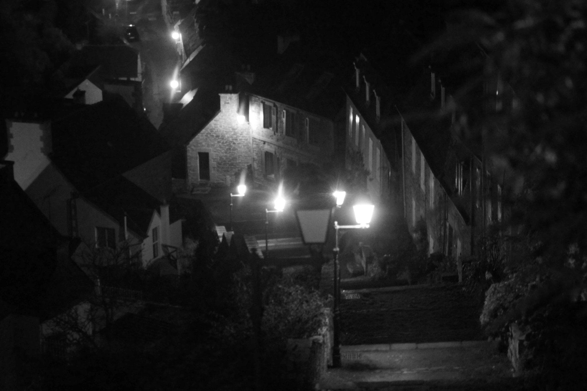 Hommage à Georges Simon, les escaliers de Brélévenez selon le Commissaire Maigret