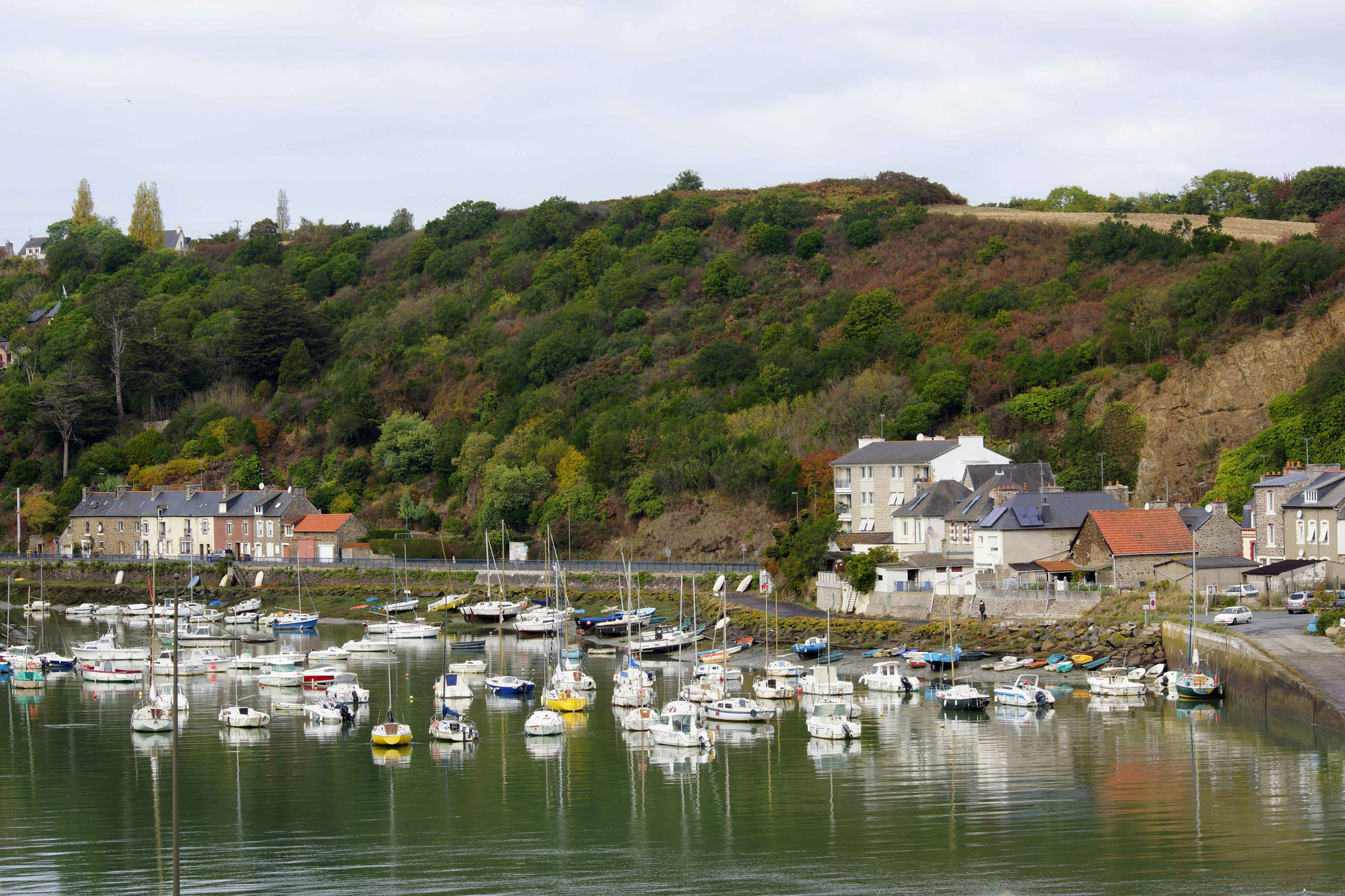 Le port de plaisance de Saint Laurent du Légué