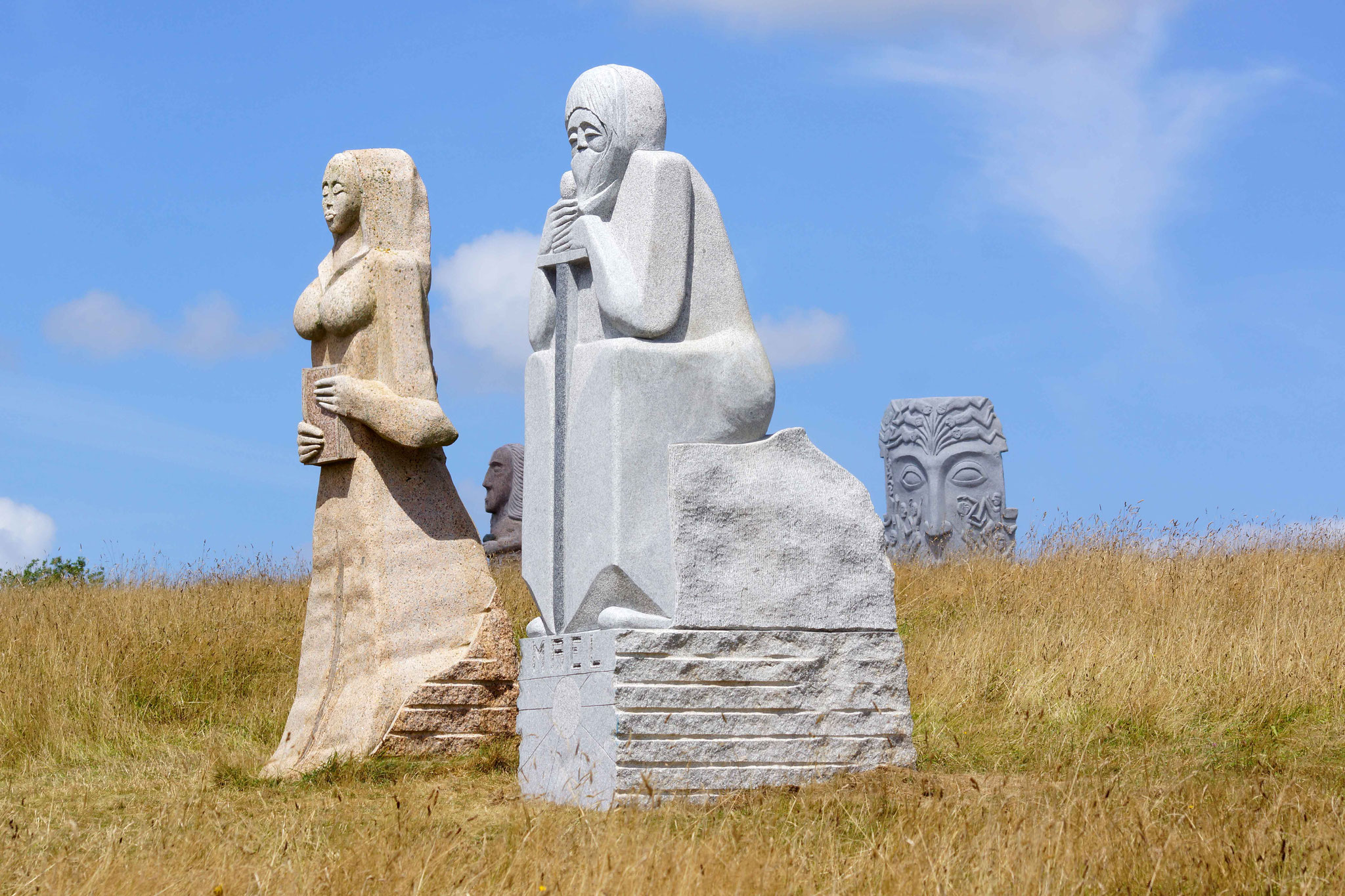 Sainte Brigitte et Saint Maël