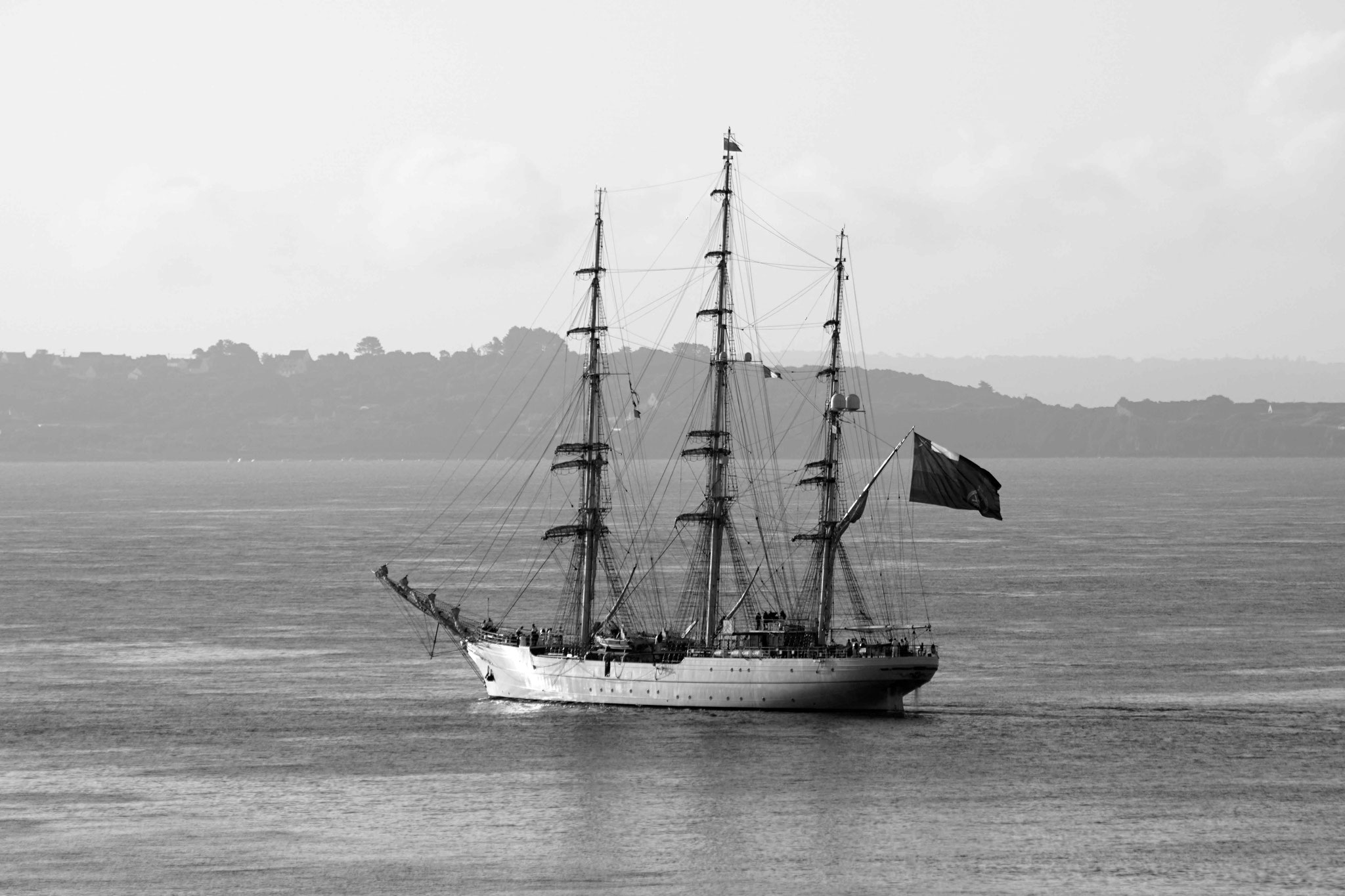 Shabab Oman II arrivant sur Brest