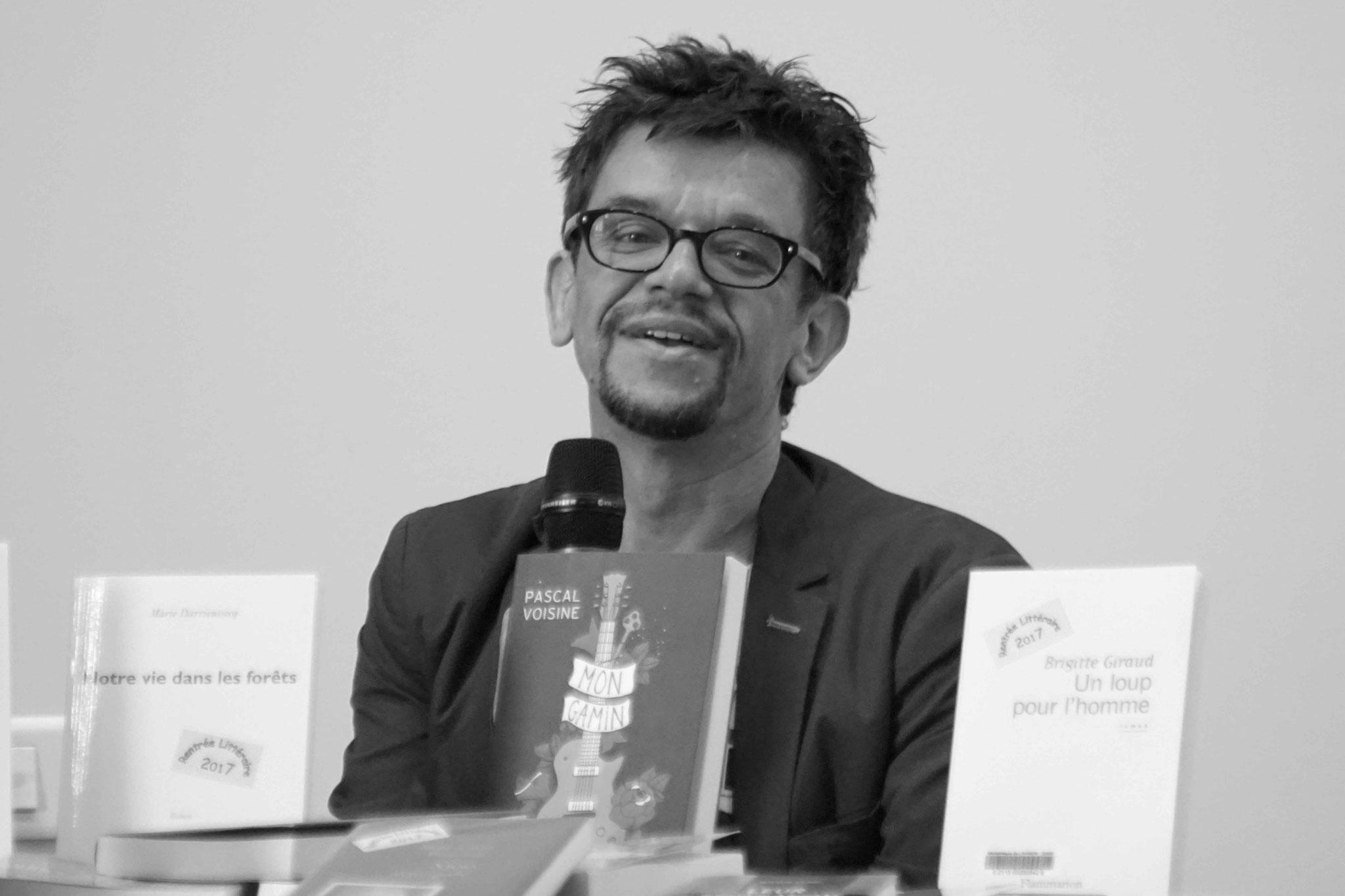 """Pascal Voisine  ~ Rencontre à la Médiathèque de Lannion pour son roman """"mon gamin"""" ; Samedi 30 septembre 2017"""