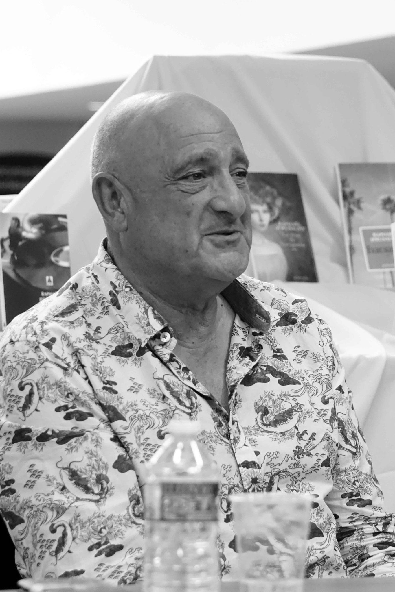 "Raphaël Jérusalmy ~ Rencontre à la Librairie Gwalarn pour son roman ""La Rose de Saragosse"" ; Vendredi 25 mai 2018"