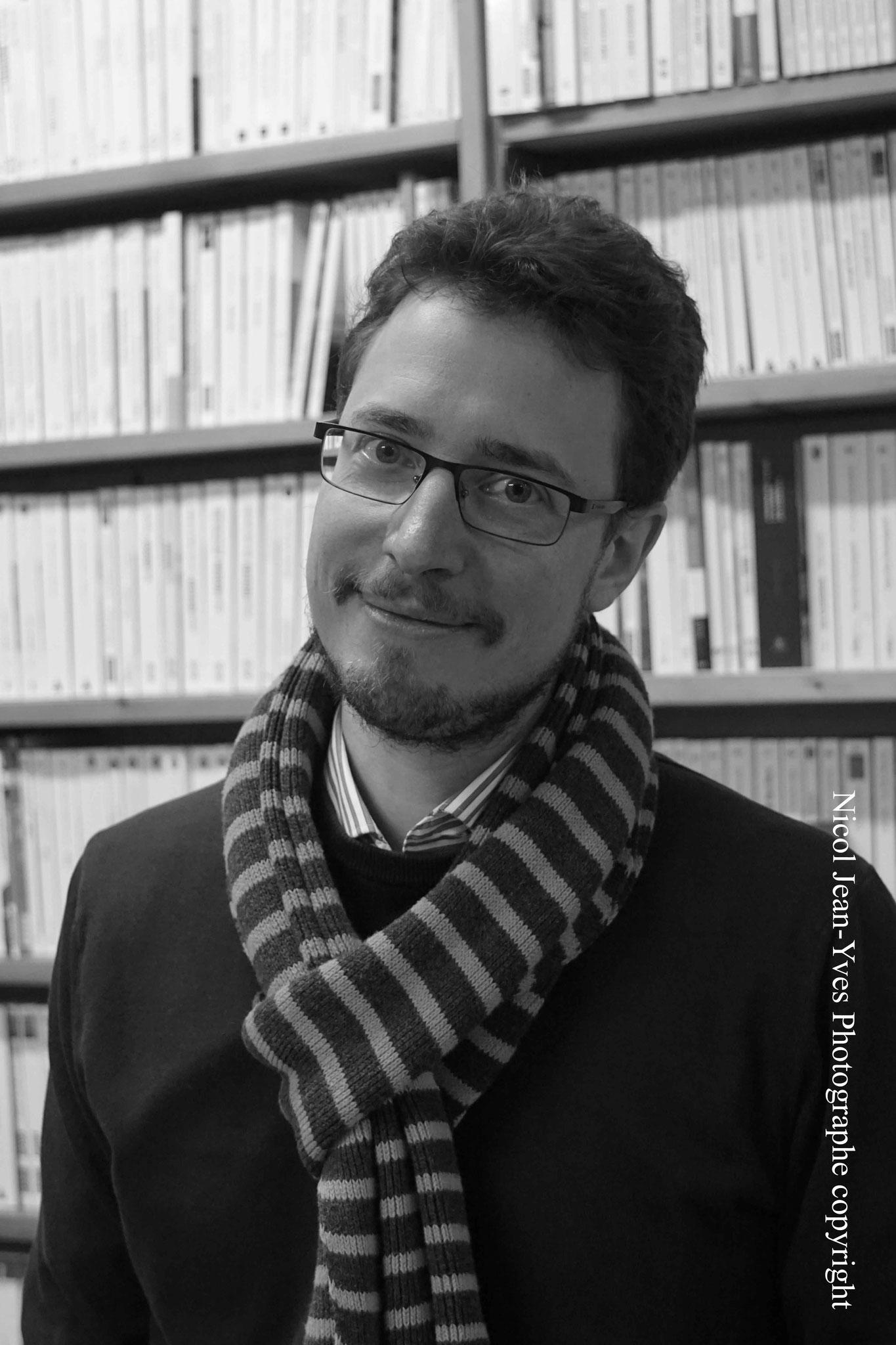 """Alexandre Seurat ~ Rencontre à la Librairie Gwalarn pour son roman """"Funanbule"""" ; Vendredi 16 mars 2018"""