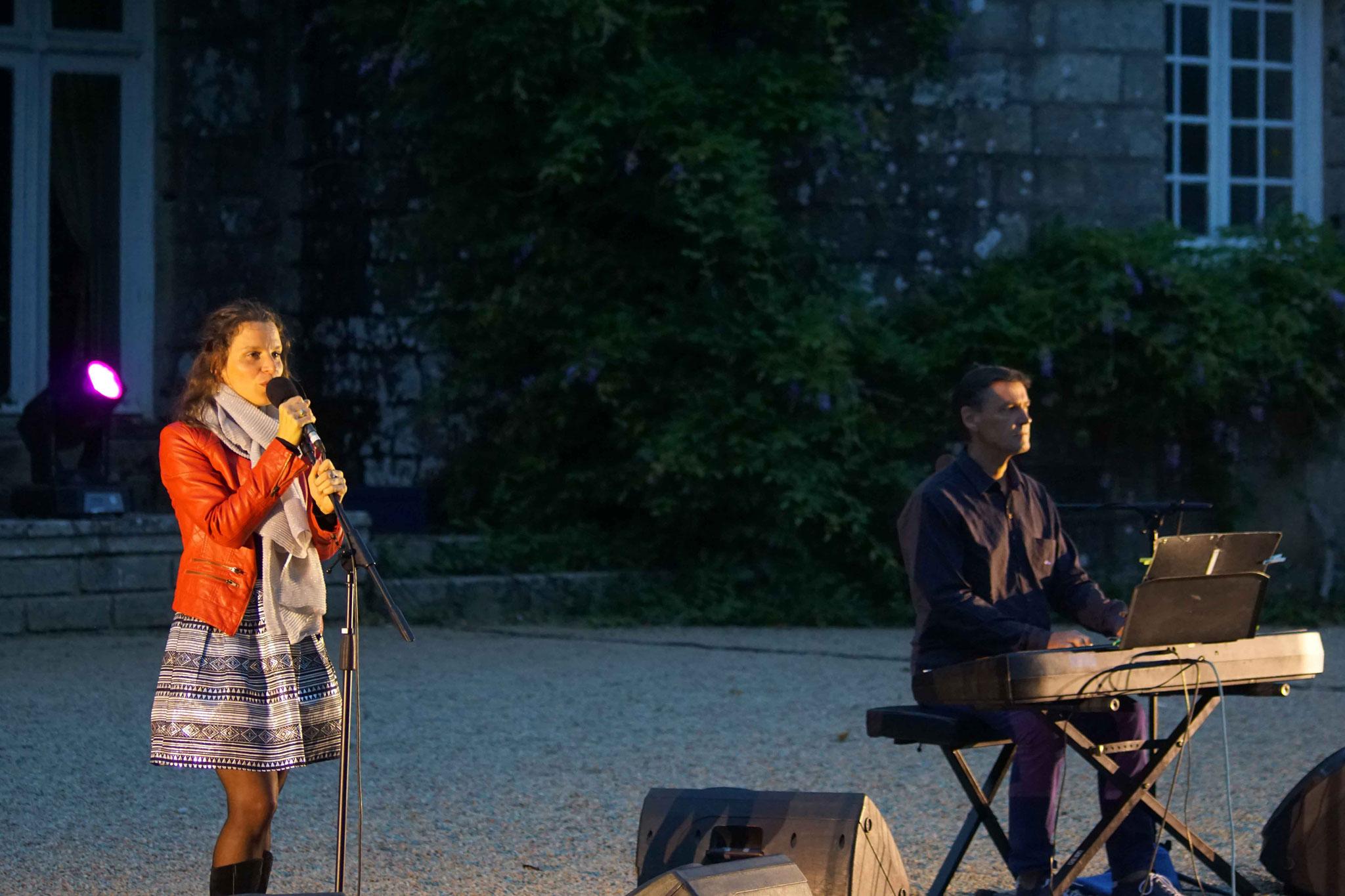 Clarisse Lavanant et Jean Marc Amis, Château de Kergrist à Ploubezre ~ samedi 15 et dimanche 16 juillet 2017