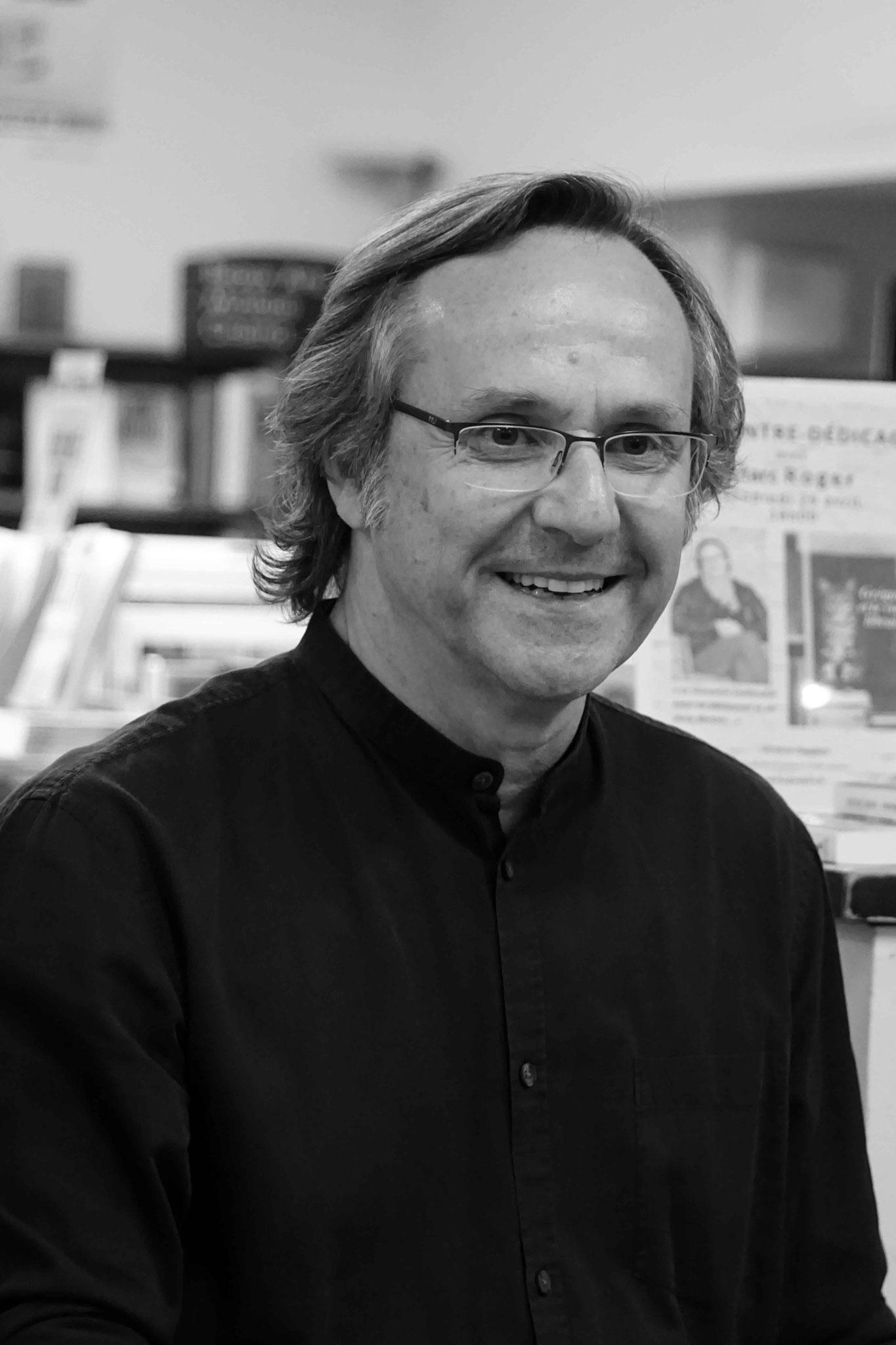"""Marc Roger ~ Rencontre à la Librairie Gwalarn pour son roman """"Grégoire et le vieux libraire"""" ; Vendredi 26 Avril 2019"""
