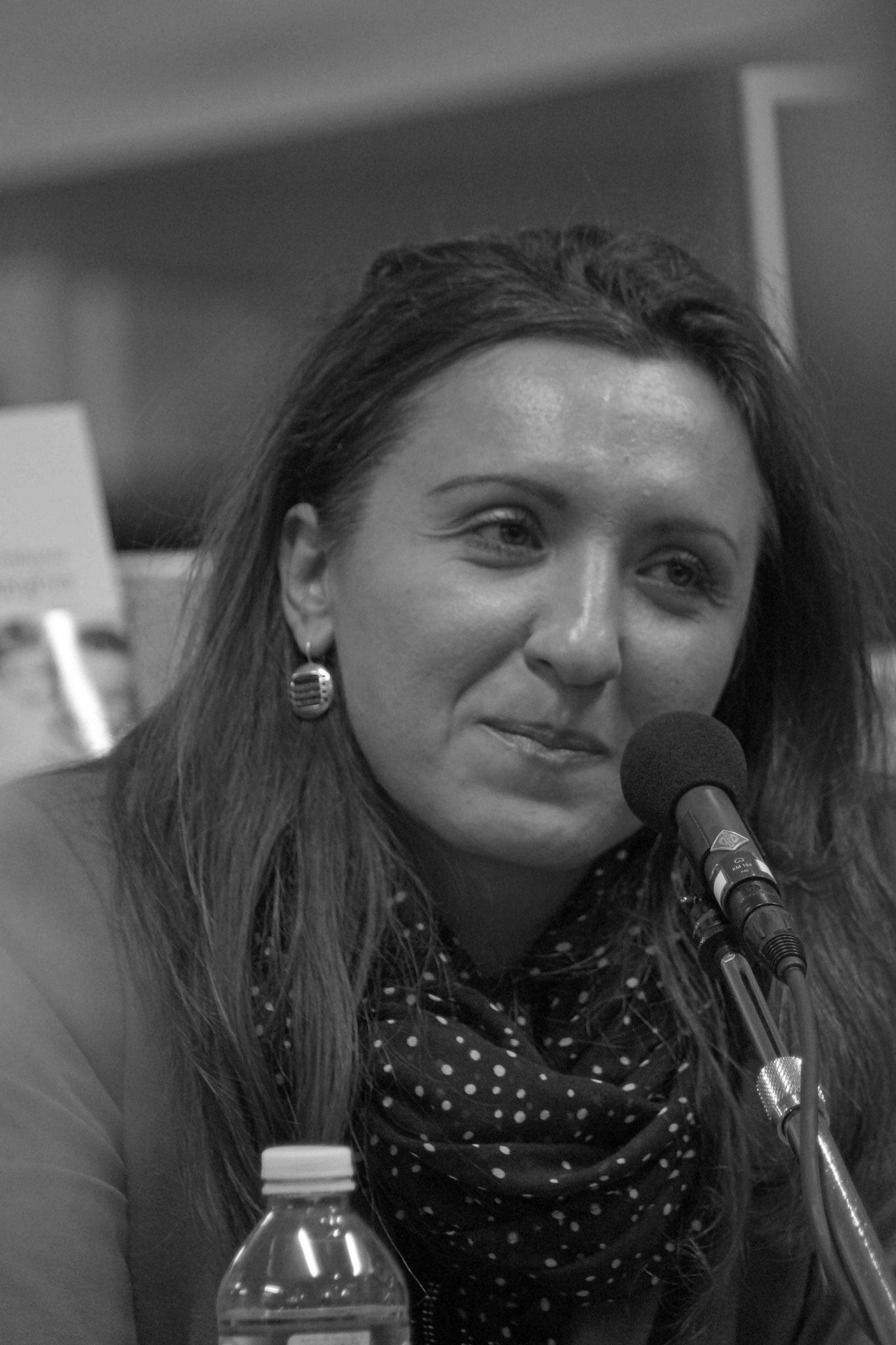 Maya Ombasic ~ Rencontre à la Librairie Gwalarn pour son Auto portait Mostarghia ; Mardi 14 mars 2017