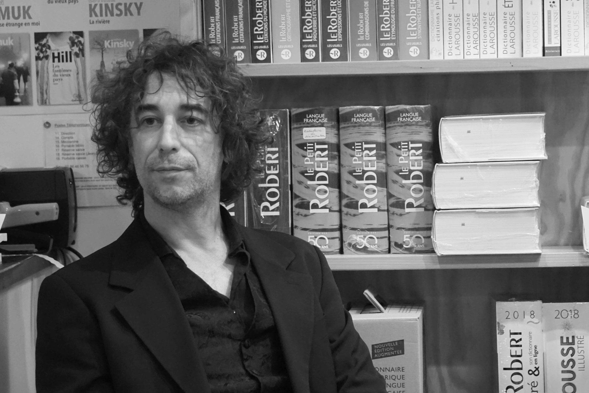 """Erwan Lahrer ~ Rencontre à la Librairie Gwalarn pour son roman """"Ce livre que je ne voulais pas écrire"""" ; Samedi 18 novembre 2018"""