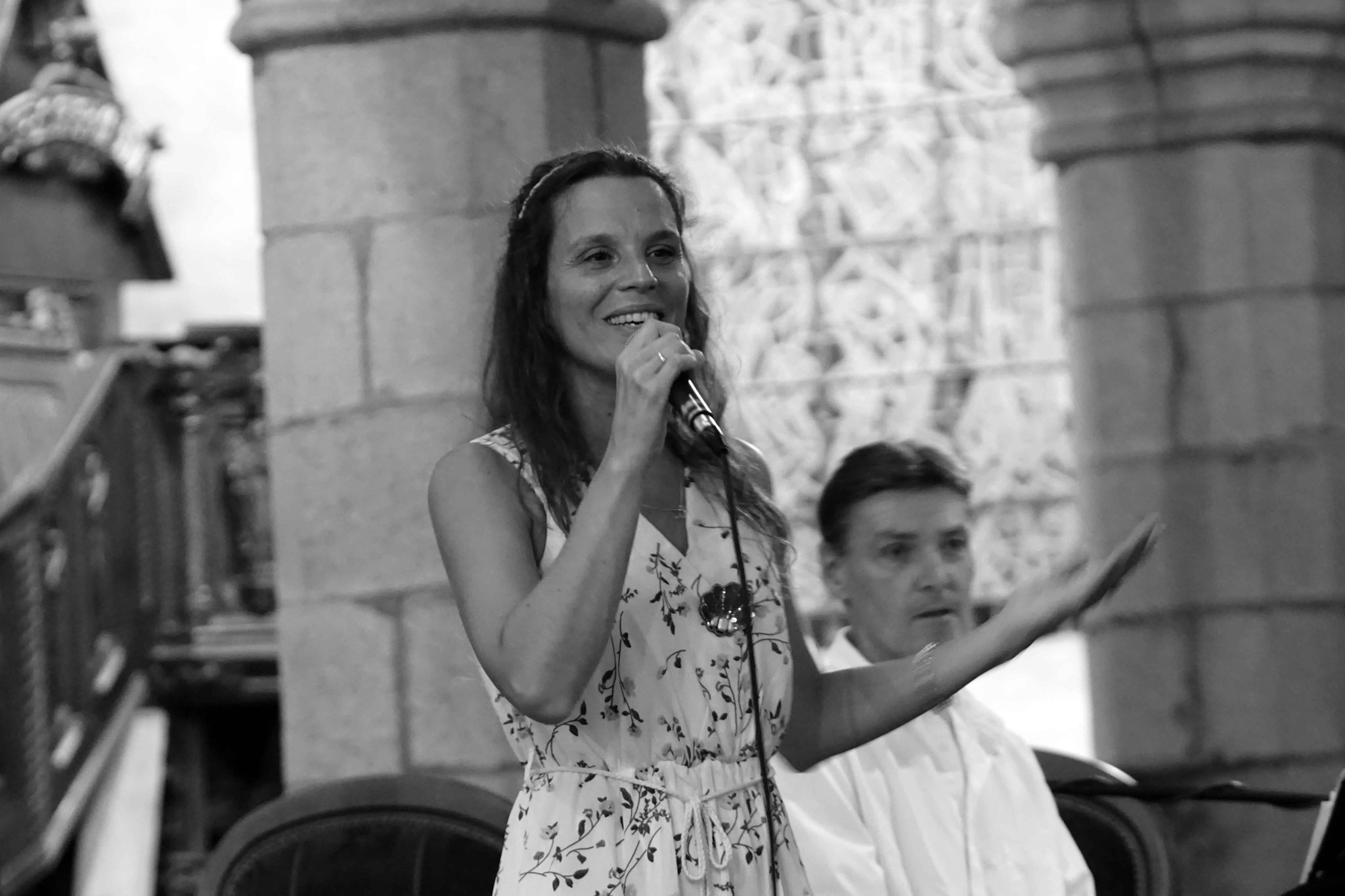 Clarisse Lavanant et Jean Marc Amis, Eglise De Plestin Les Grèves, Vendredi 27 Juillet 2018