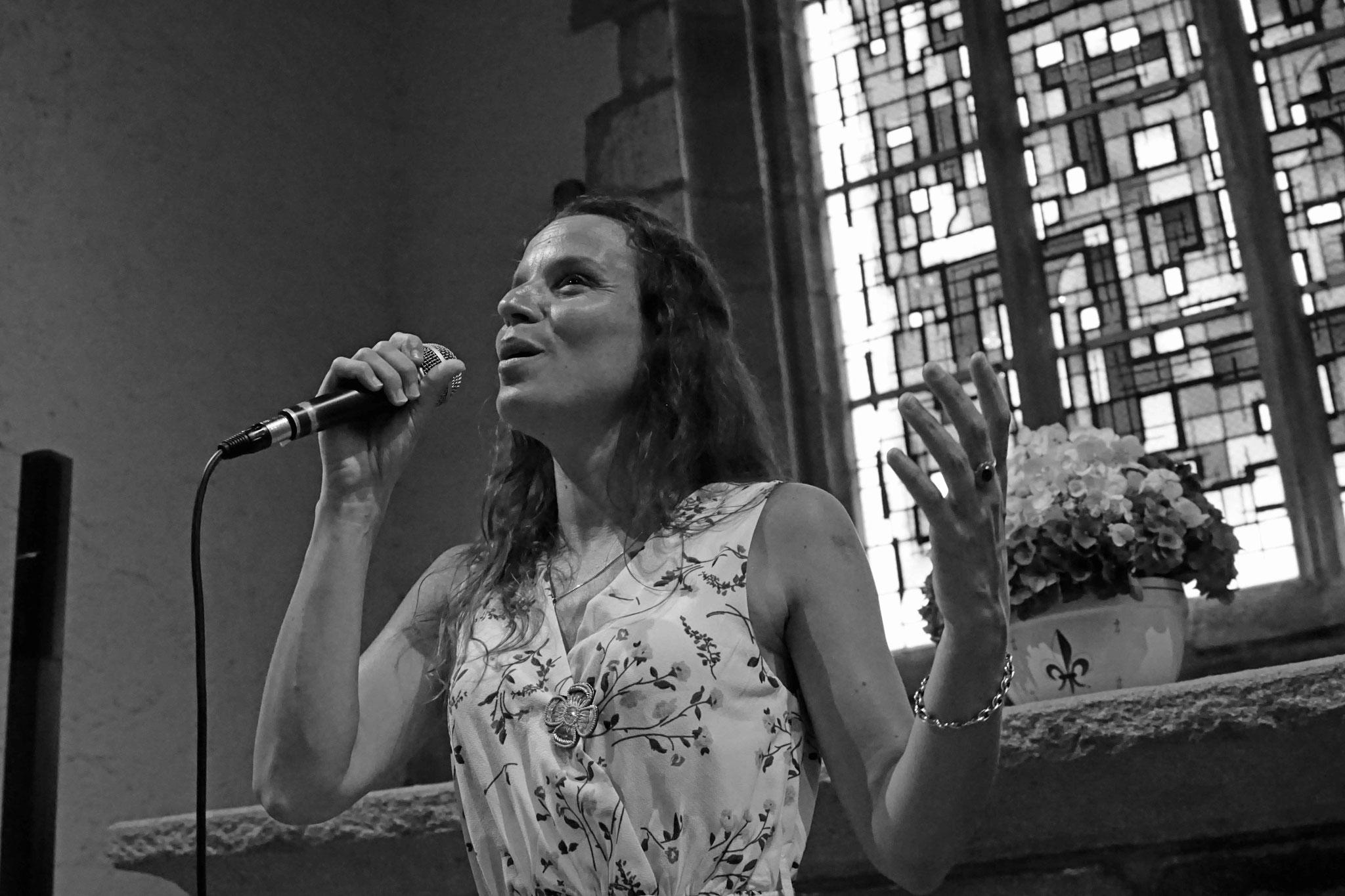 Clarisse Lavanant, Chapelle Saint Uzec en Pleumeur-Bodou, le vendredi 3 Août 2018