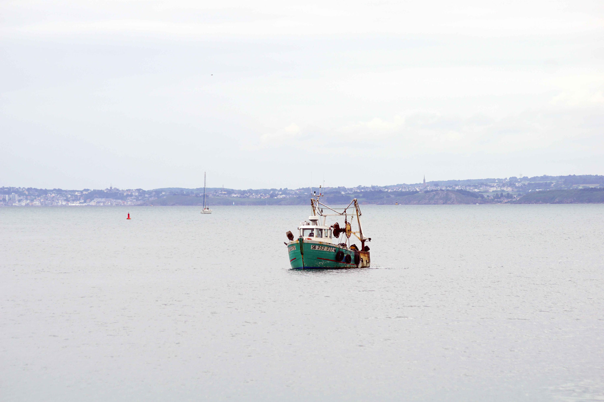Solitude en baie de Saint Brieuc