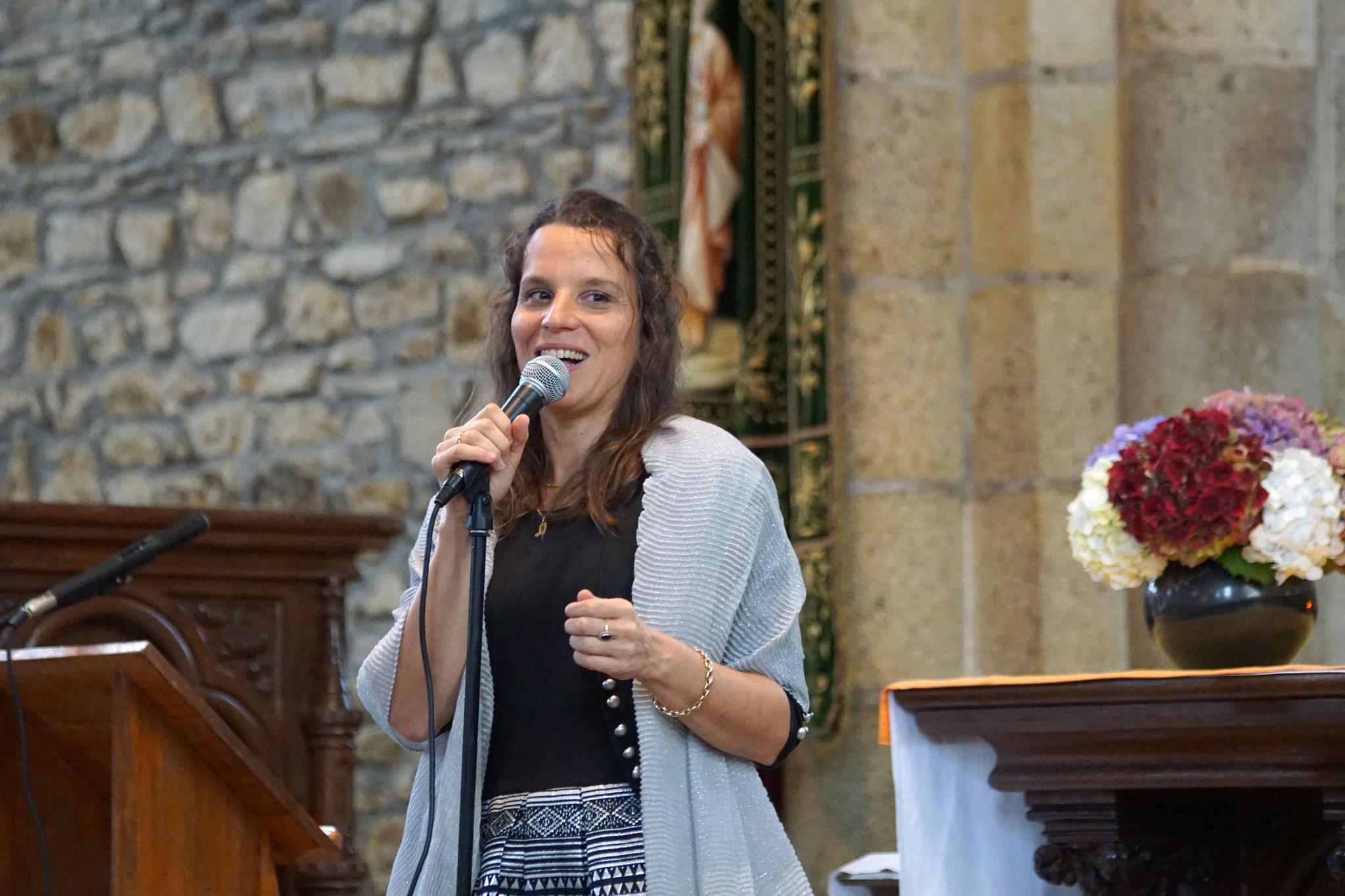 Clarisse Lavanant, Eglise de Carnoët ~ Dimanche 8 octobre 2017